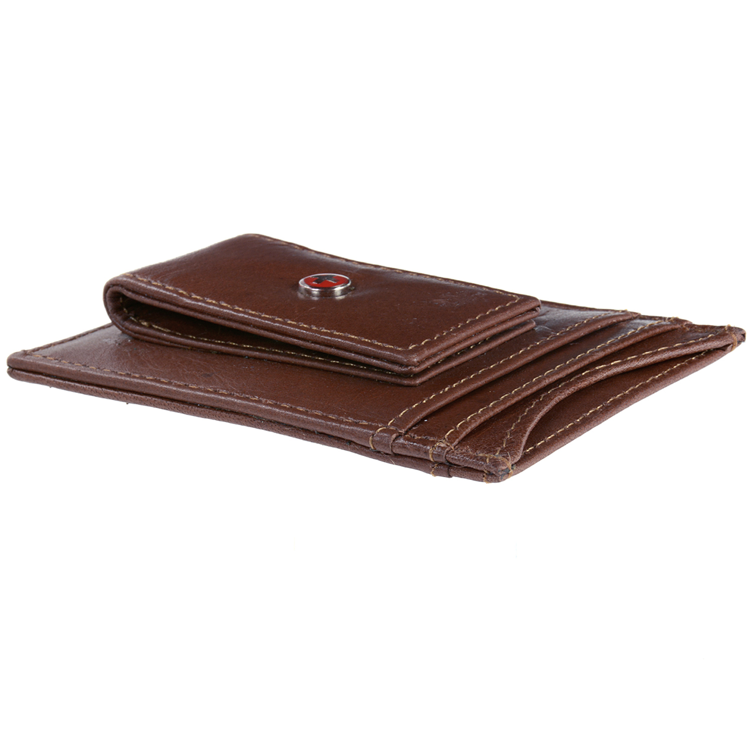 AlpineSwiss-Mens-Leather-Money-Clip-Magnet-Front-Pocket-Wallet-Slim-ID-Card-Case thumbnail 31