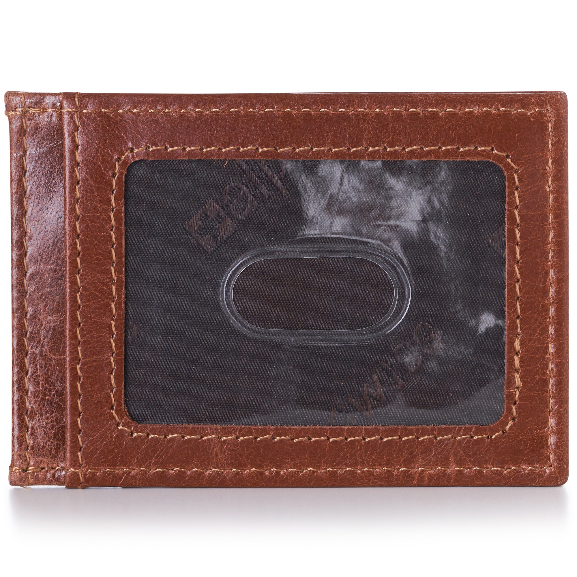 AlpineSwiss-Mens-Leather-Money-Clip-Magnet-Front-Pocket-Wallet-Slim-ID-Card-Case thumbnail 34
