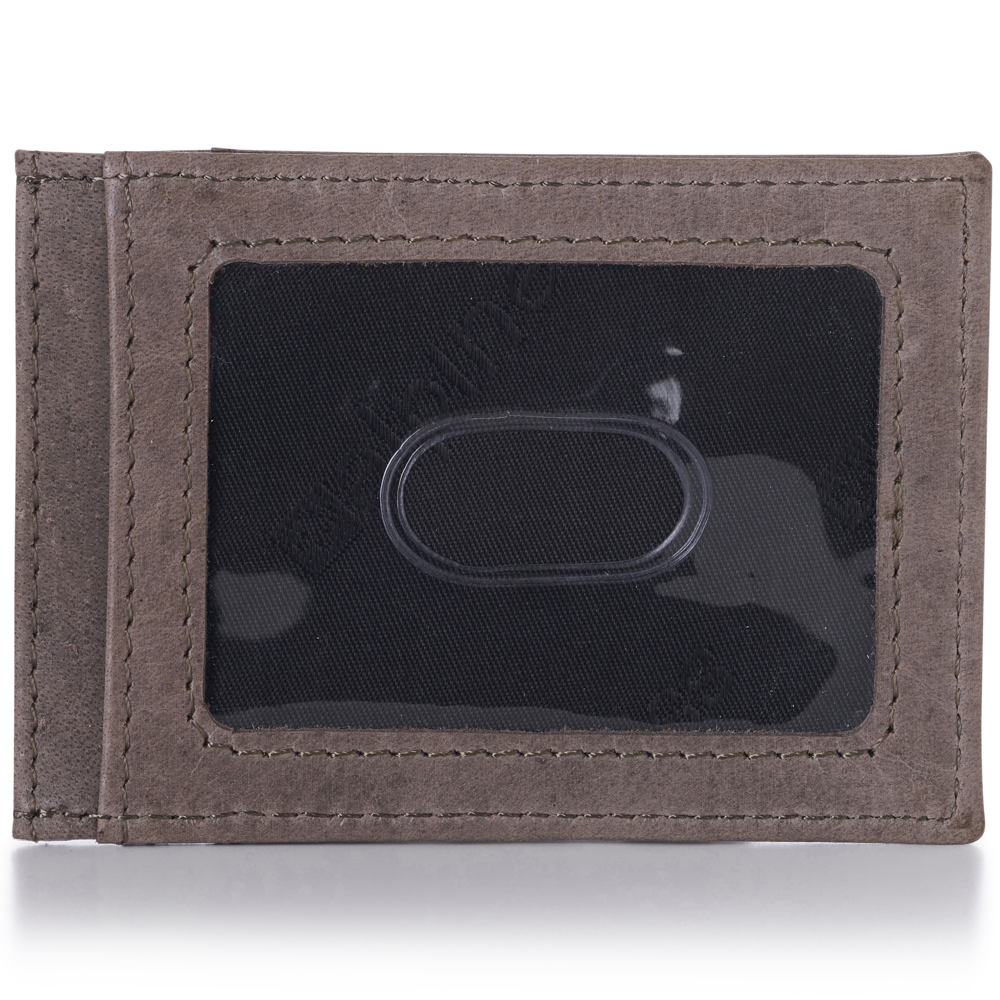 AlpineSwiss-Mens-Leather-Money-Clip-Magnet-Front-Pocket-Wallet-Slim-ID-Card-Case thumbnail 13