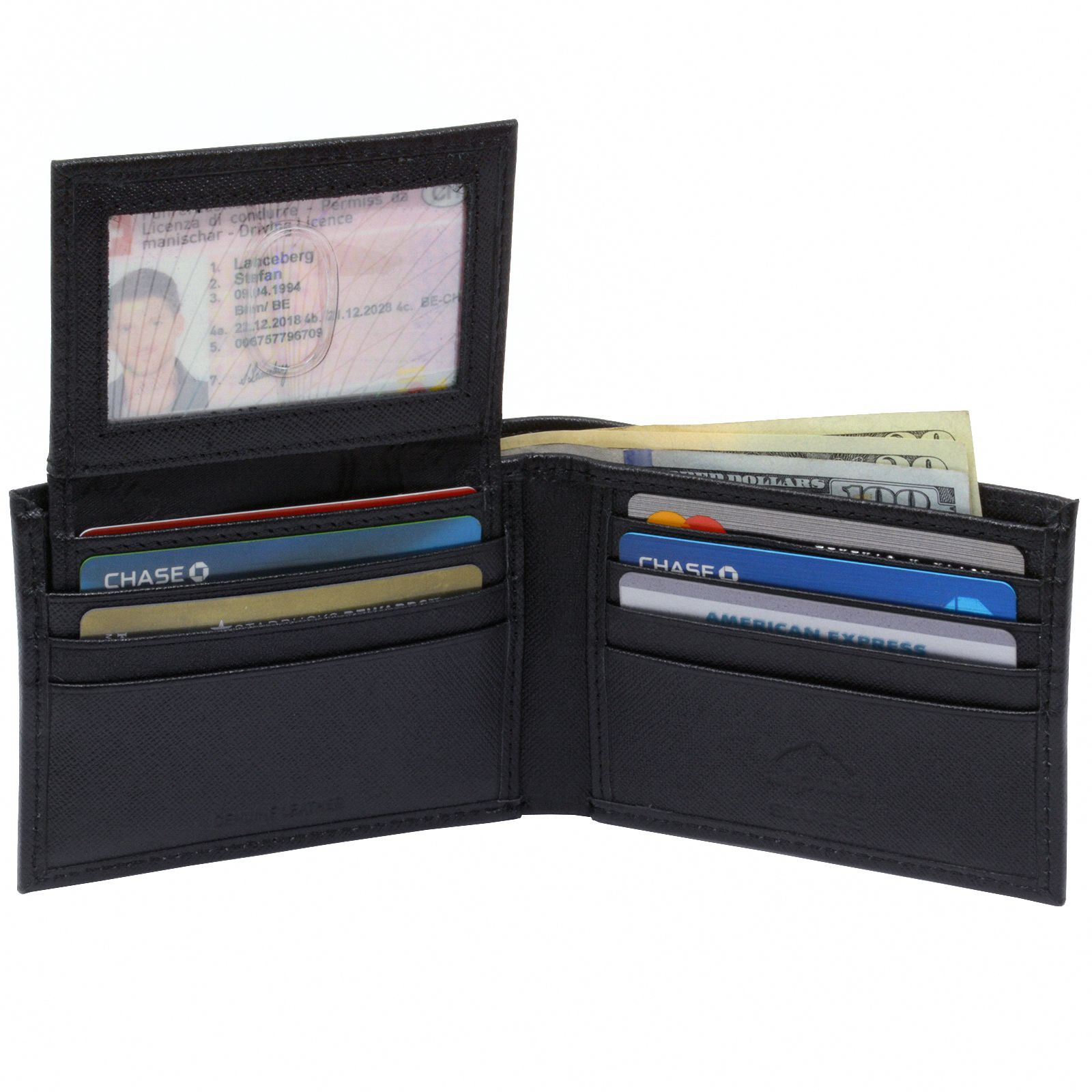 Alpine-Swiss-Mens-Wallet-Genuine-Leather-Removable-ID-Card-Case-Bifold-Passcase thumbnail 42