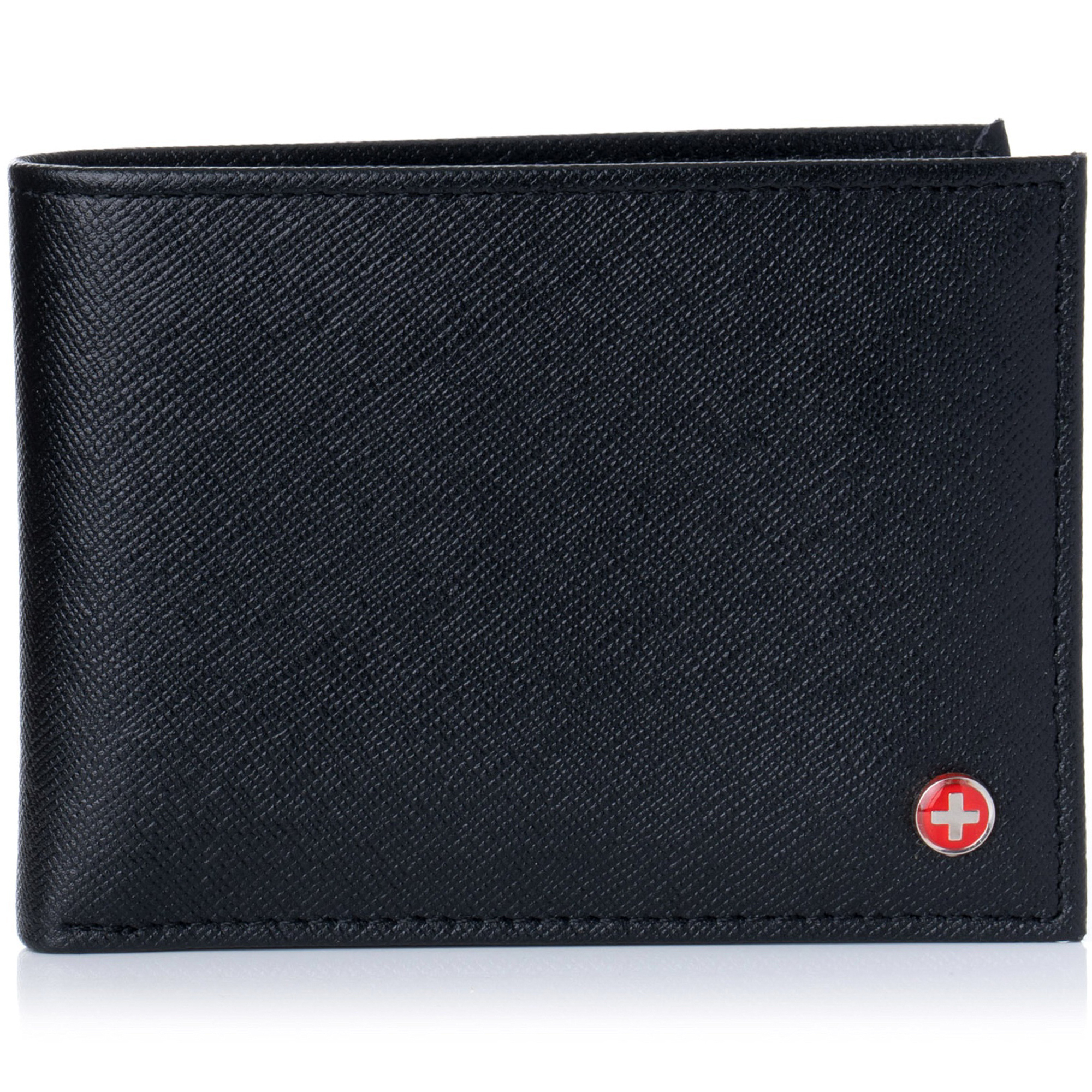 Alpine-Swiss-Mens-Wallet-Genuine-Leather-Removable-ID-Card-Case-Bifold-Passcase thumbnail 44