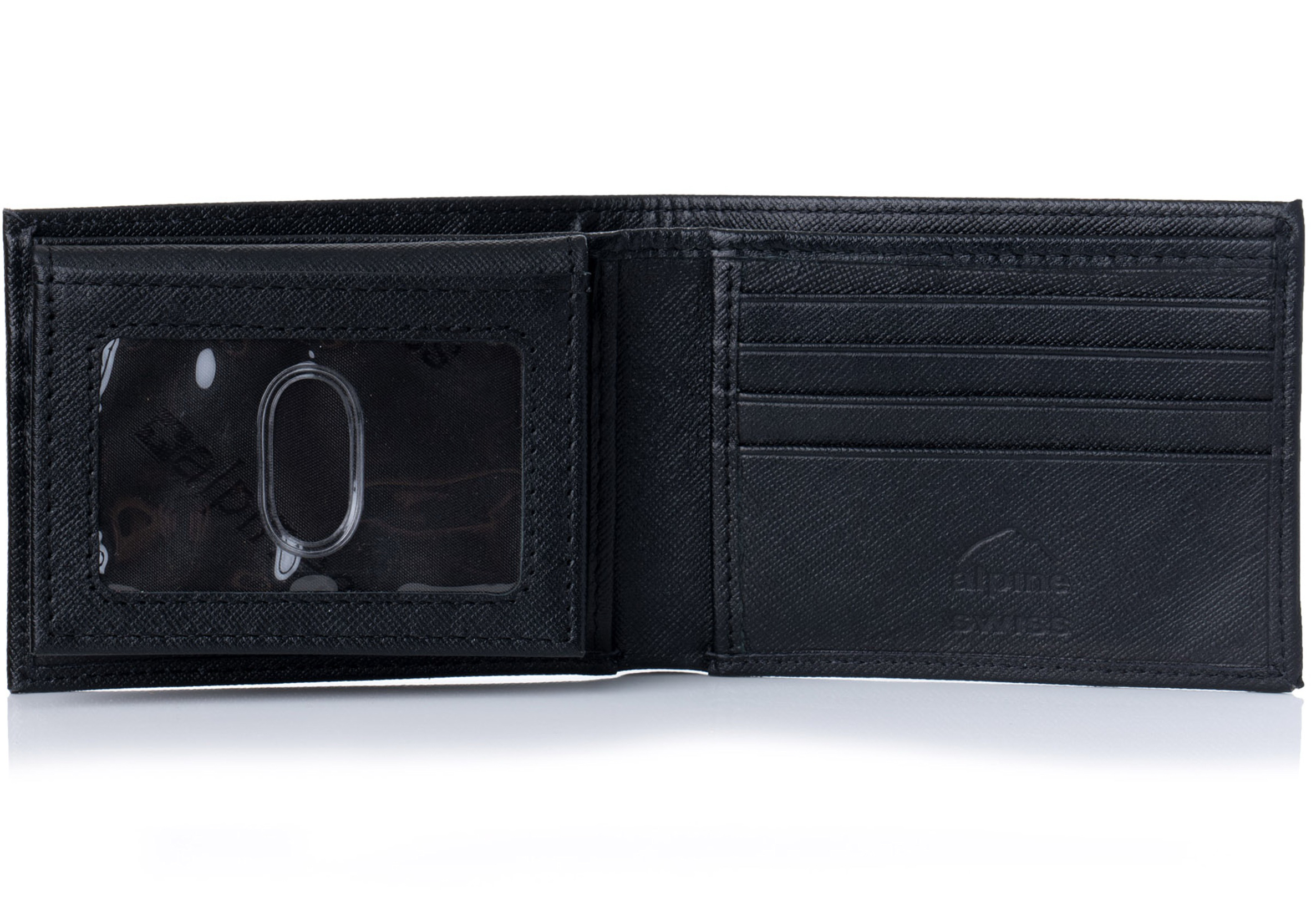 Alpine-Swiss-Mens-Wallet-Genuine-Leather-Removable-ID-Card-Case-Bifold-Passcase thumbnail 48