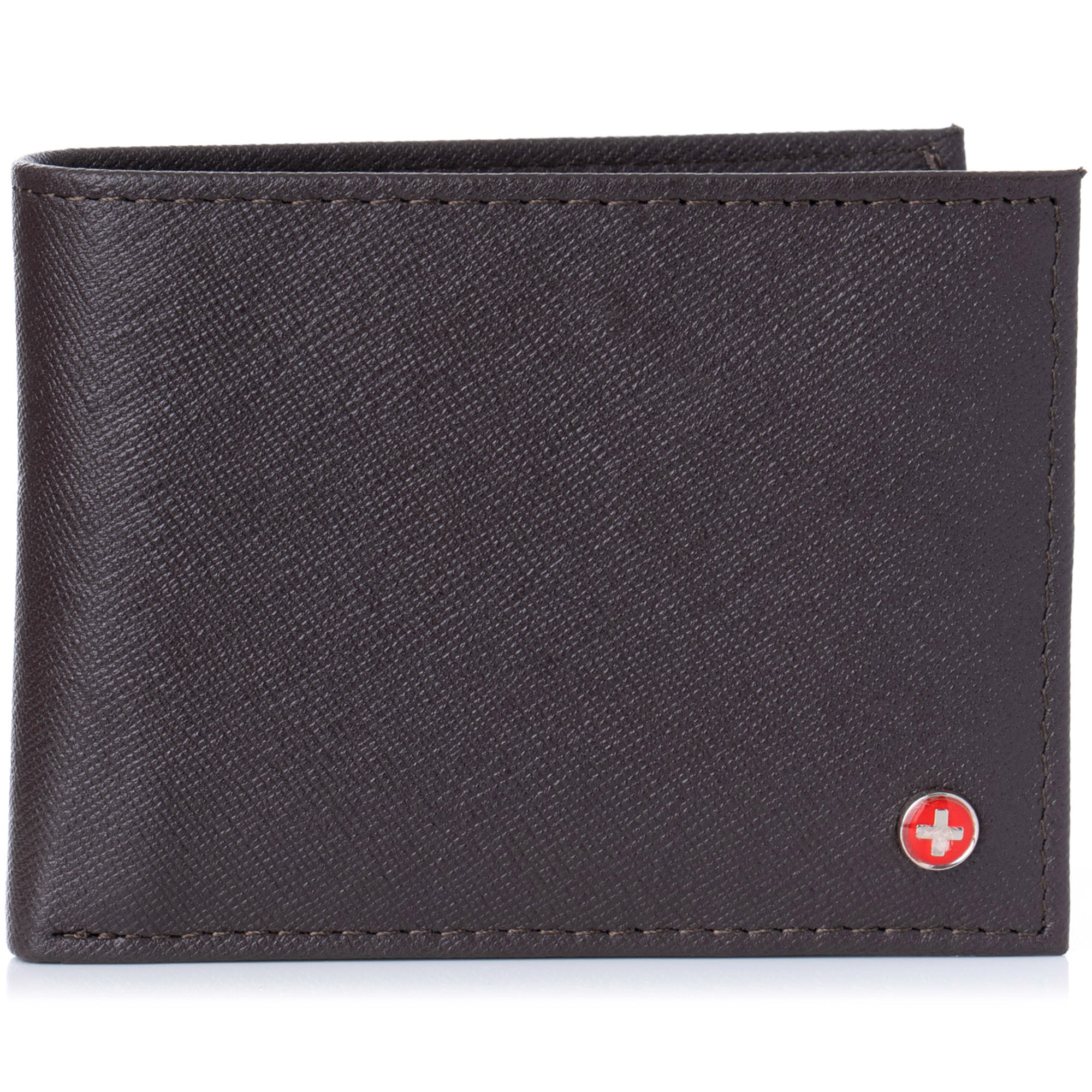 Alpine-Swiss-Mens-Wallet-Genuine-Leather-Removable-ID-Card-Case-Bifold-Passcase thumbnail 66