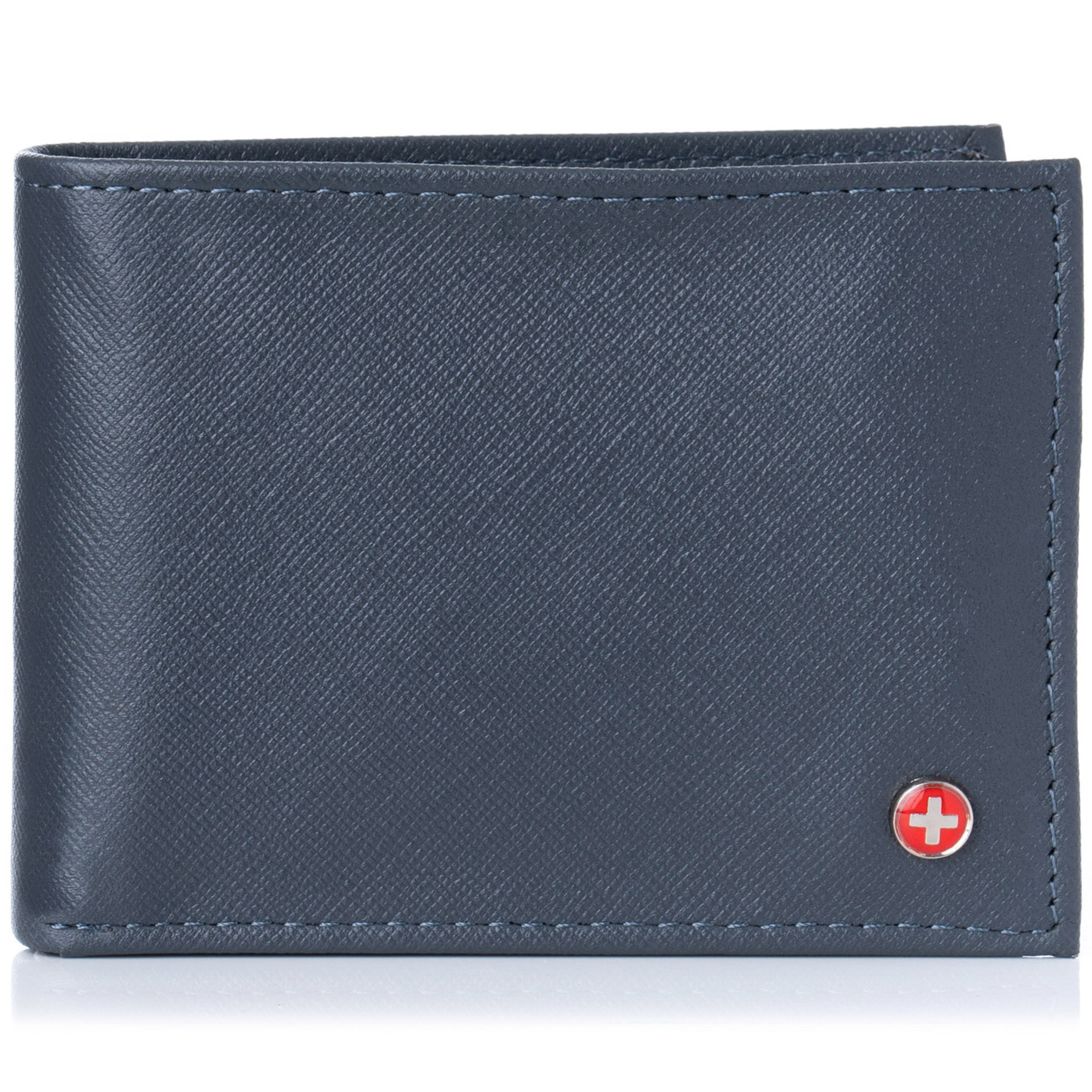 Alpine-Swiss-Mens-Wallet-Genuine-Leather-Removable-ID-Card-Case-Bifold-Passcase thumbnail 78