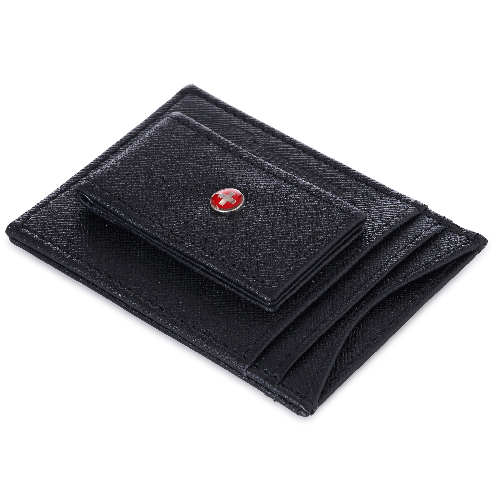 AlpineSwiss-Mens-Leather-Money-Clip-Magnet-Front-Pocket-Wallet-Slim-ID-Card-Case thumbnail 45