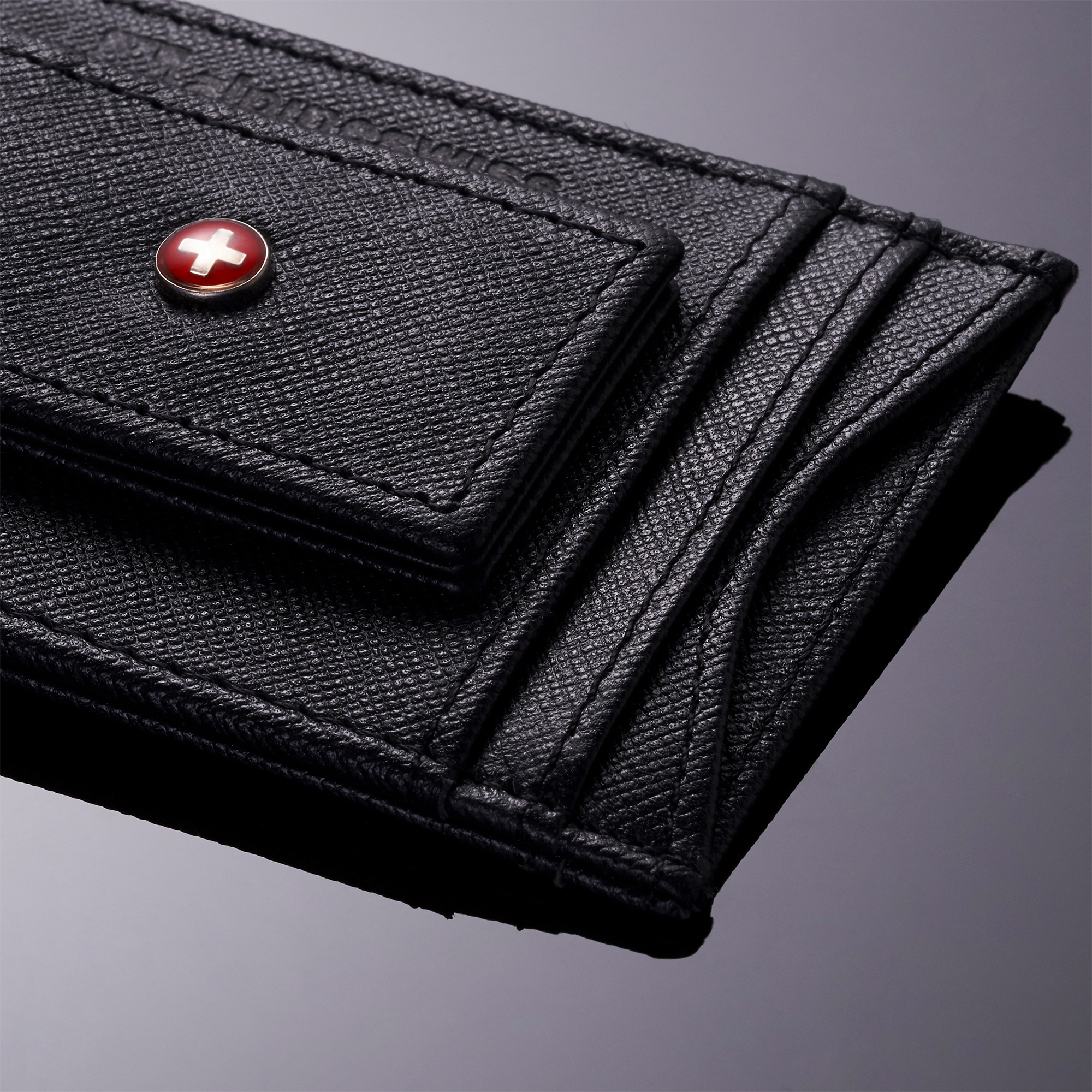 AlpineSwiss-Mens-Leather-Money-Clip-Magnet-Front-Pocket-Wallet-Slim-ID-Card-Case thumbnail 41