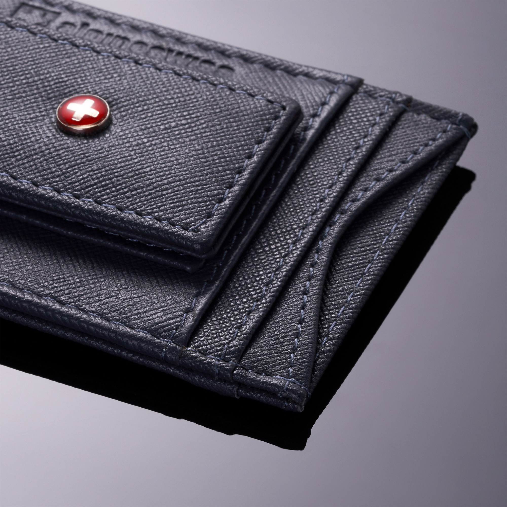 AlpineSwiss-Mens-Leather-Money-Clip-Magnet-Front-Pocket-Wallet-Slim-ID-Card-Case thumbnail 61