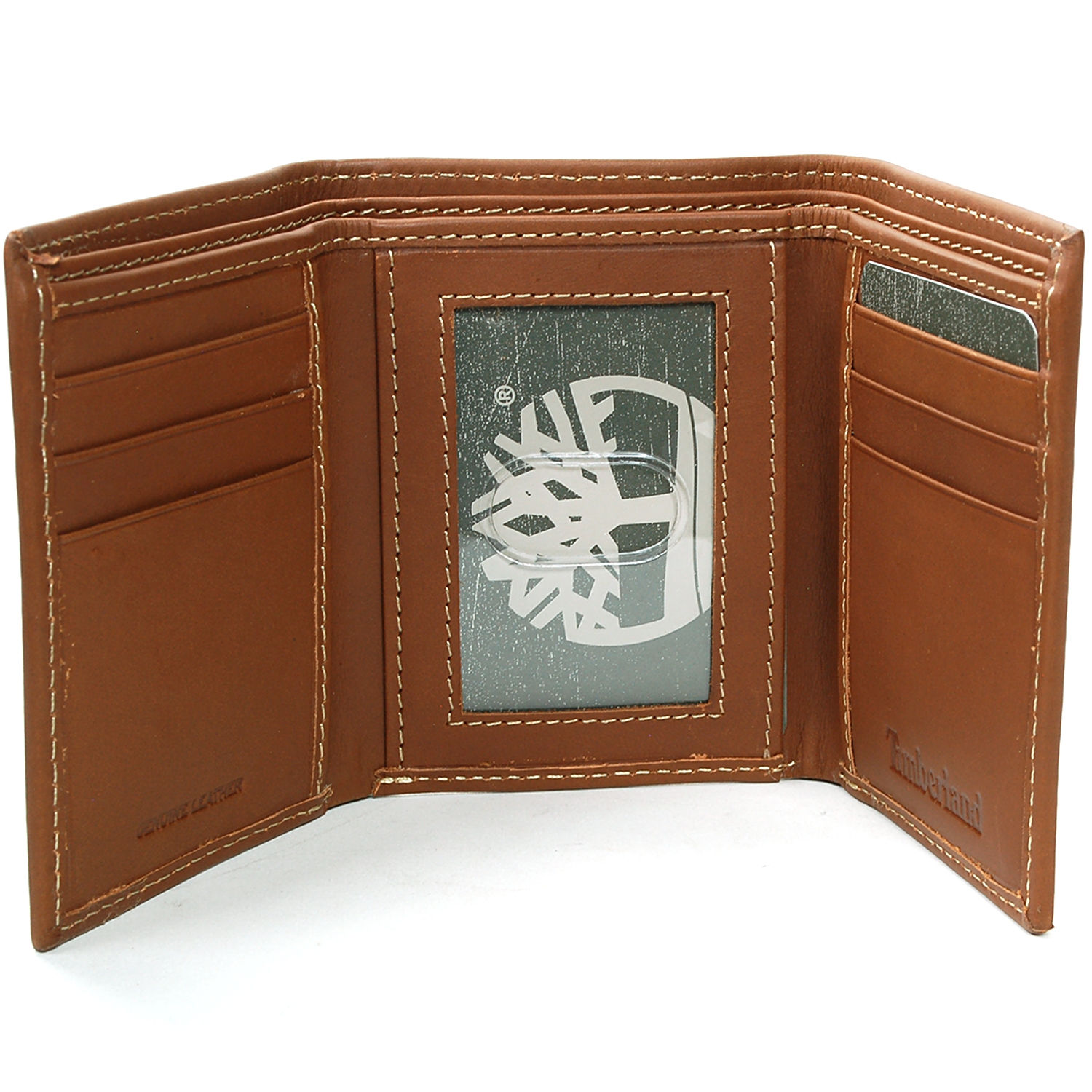 a67231a65b893 Timberland Men s Trifold Wallet Soft Genuine Leather Slim Billfold ...