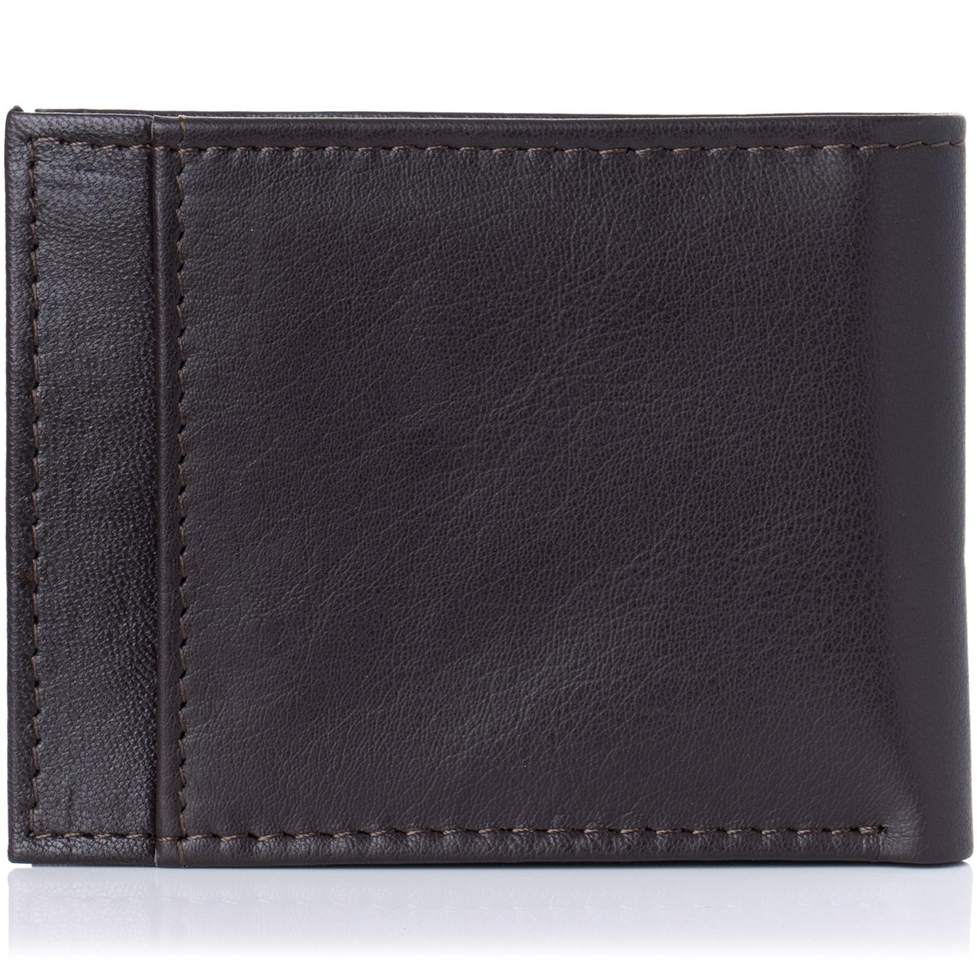 Alpine-Swiss-Mens-Thin-Bifold-Wallet-Top-Grain-Leather-EZ-Access-Outer-Card-Slot thumbnail 39