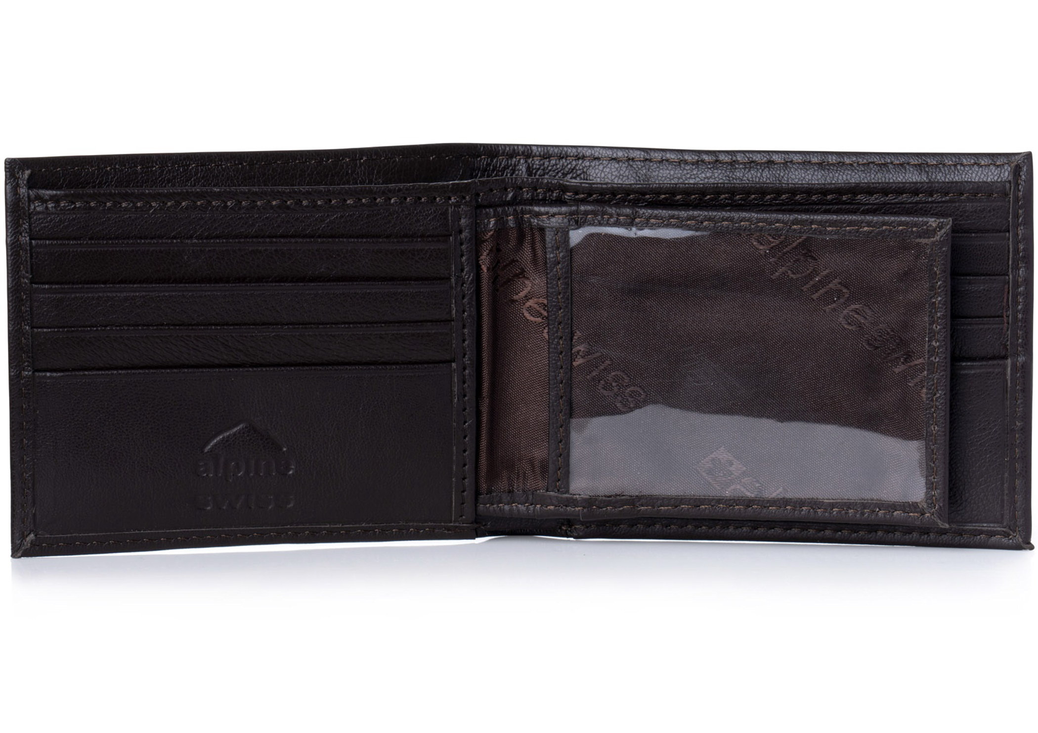 Alpine-Swiss-Mens-Leather-Wallet-Multi-Card-Flip-ID-High-Capacity-Compact-Bifold thumbnail 28