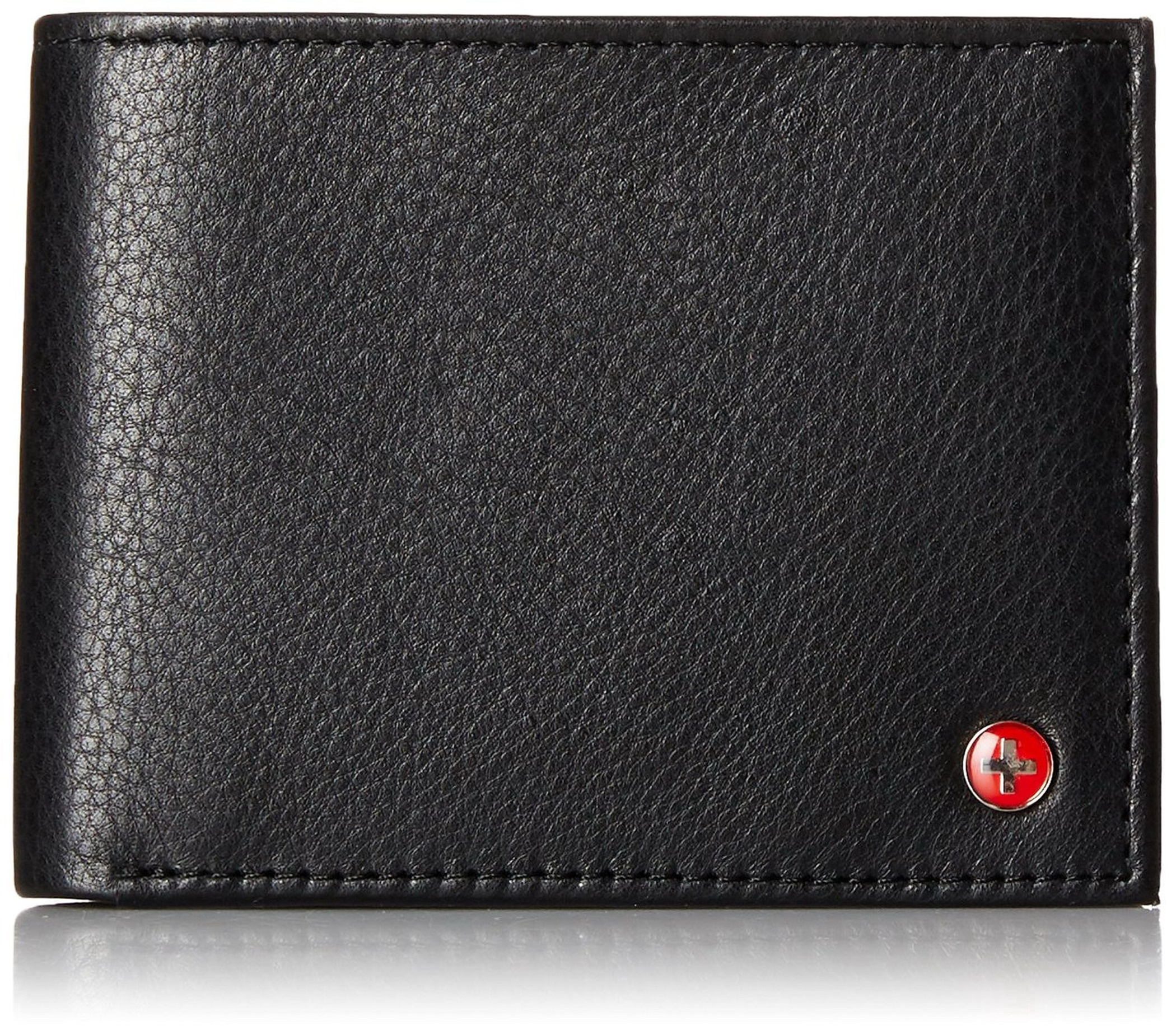 Alpine-Swiss-Mens-Wallet-Genuine-Leather-Removable-ID-Card-Case-Bifold-Passcase thumbnail 25