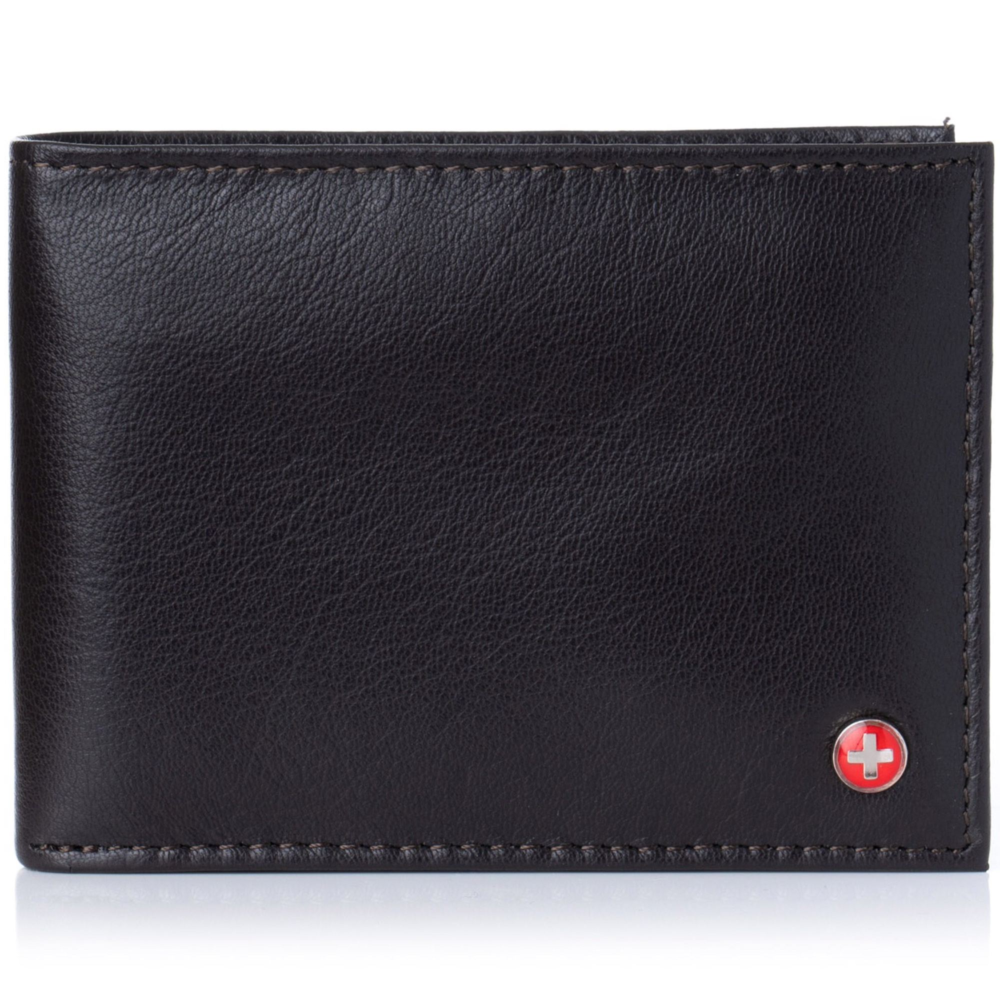 Alpine-Swiss-Mens-Wallet-Genuine-Leather-Removable-ID-Card-Case-Bifold-Passcase thumbnail 35
