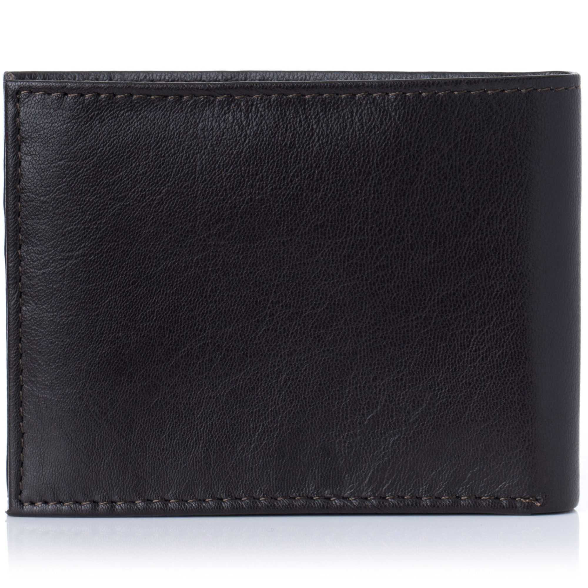 Alpine-Swiss-Mens-Wallet-Genuine-Leather-Removable-ID-Card-Case-Bifold-Passcase thumbnail 36