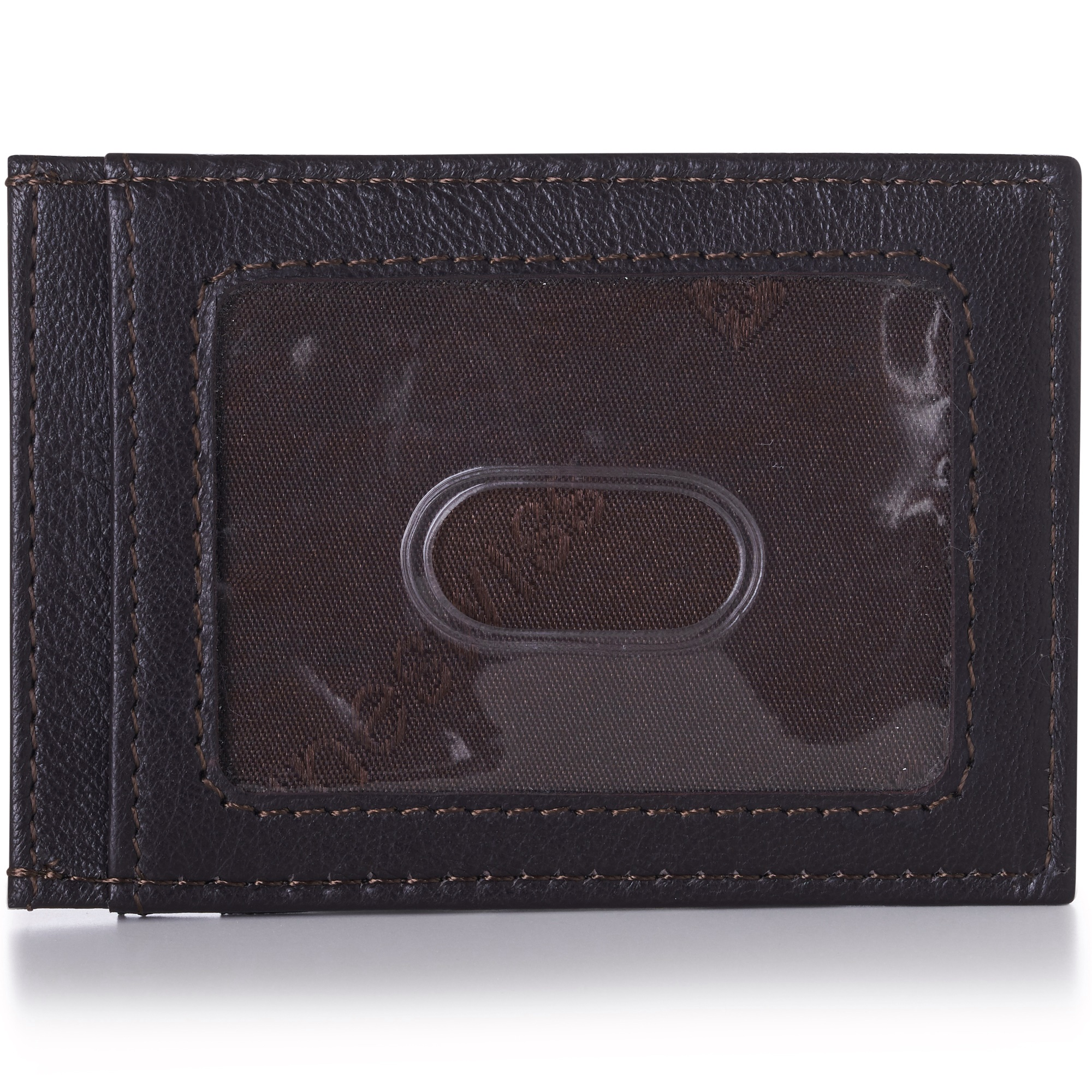AlpineSwiss-Mens-Leather-Money-Clip-Magnet-Front-Pocket-Wallet-Slim-ID-Card-Case thumbnail 72