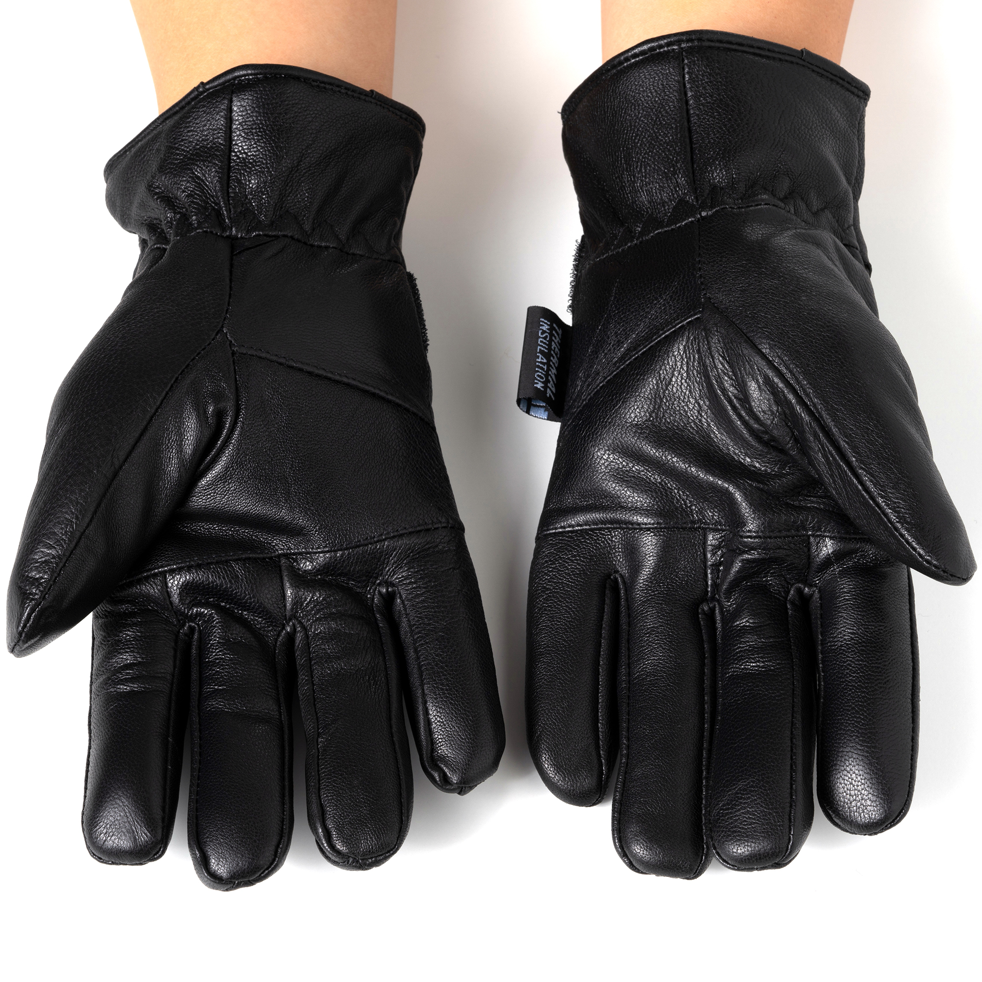 Alpine-Swiss-Mens-Gloves-Dressy-Genuine-Leather-Warm-Thermal-Lined-Wrist-Strap thumbnail 15