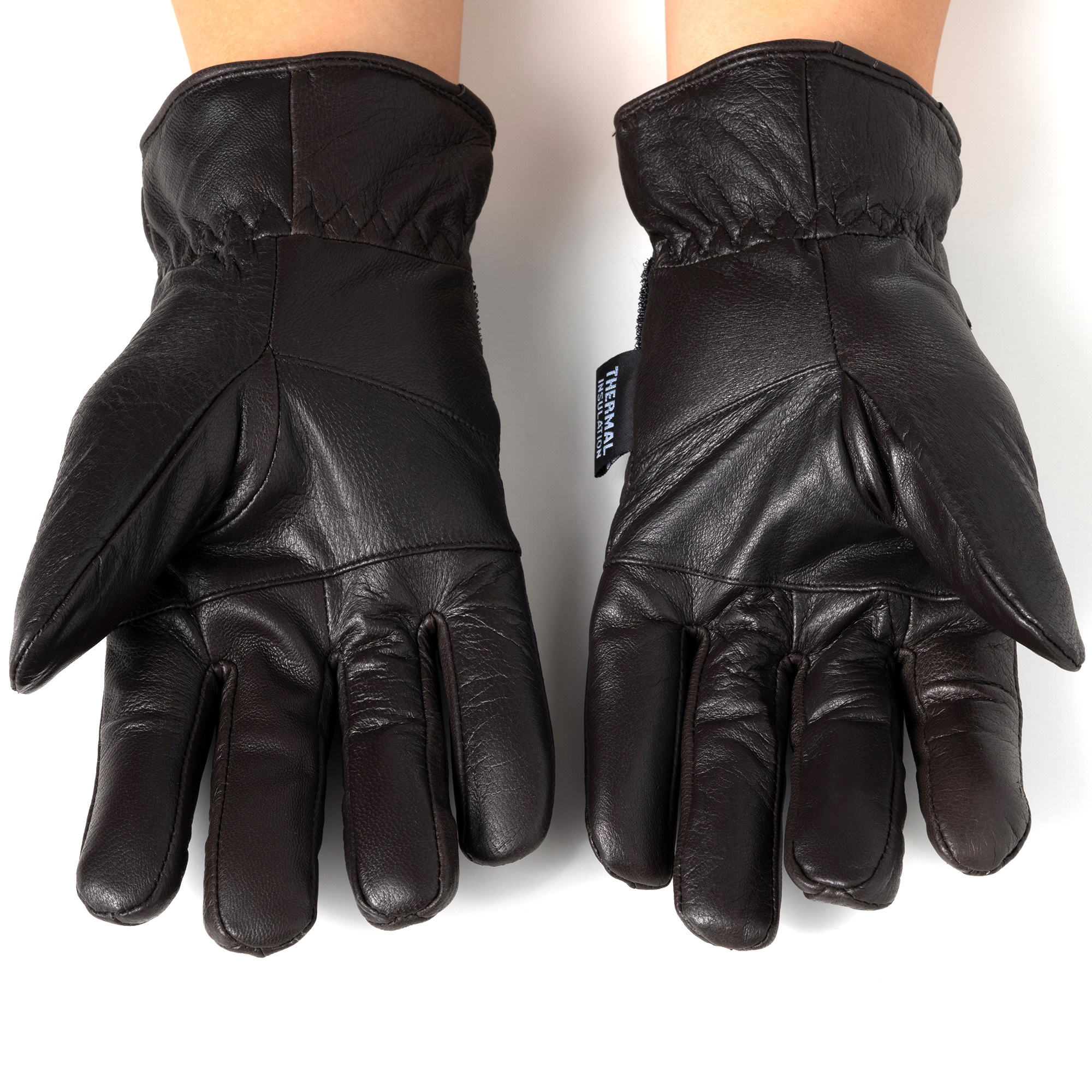Alpine-Swiss-Mens-Gloves-Dressy-Genuine-Leather-Warm-Thermal-Lined-Wrist-Strap thumbnail 22