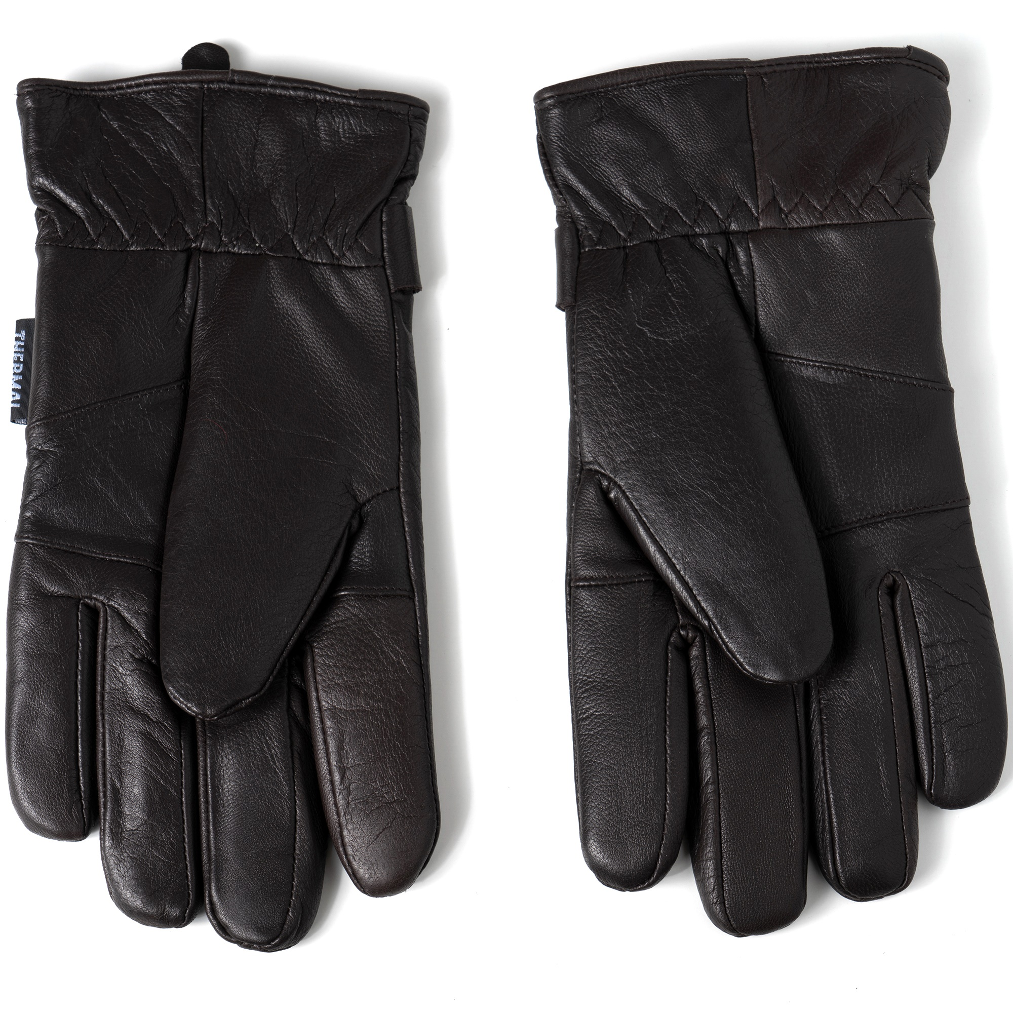 Alpine-Swiss-Mens-Gloves-Dressy-Genuine-Leather-Warm-Thermal-Lined-Wrist-Strap thumbnail 25
