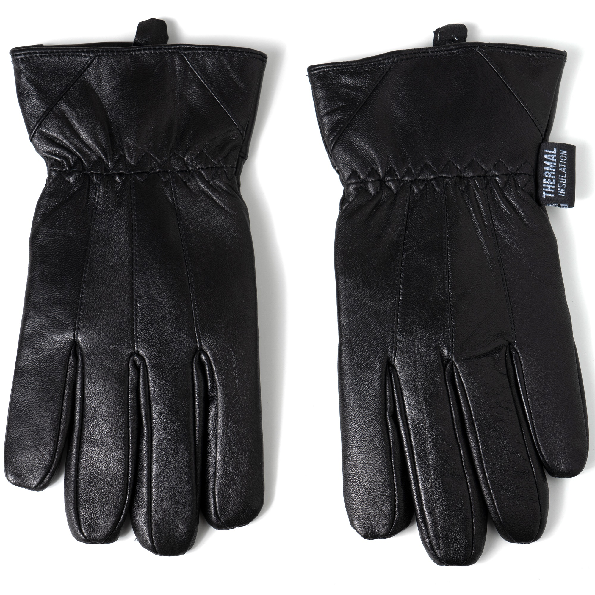 Alpine-Swiss-Mens-Touch-Screen-Gloves-Leather-Thermal-Lined-Phone-Texting-Gloves thumbnail 16