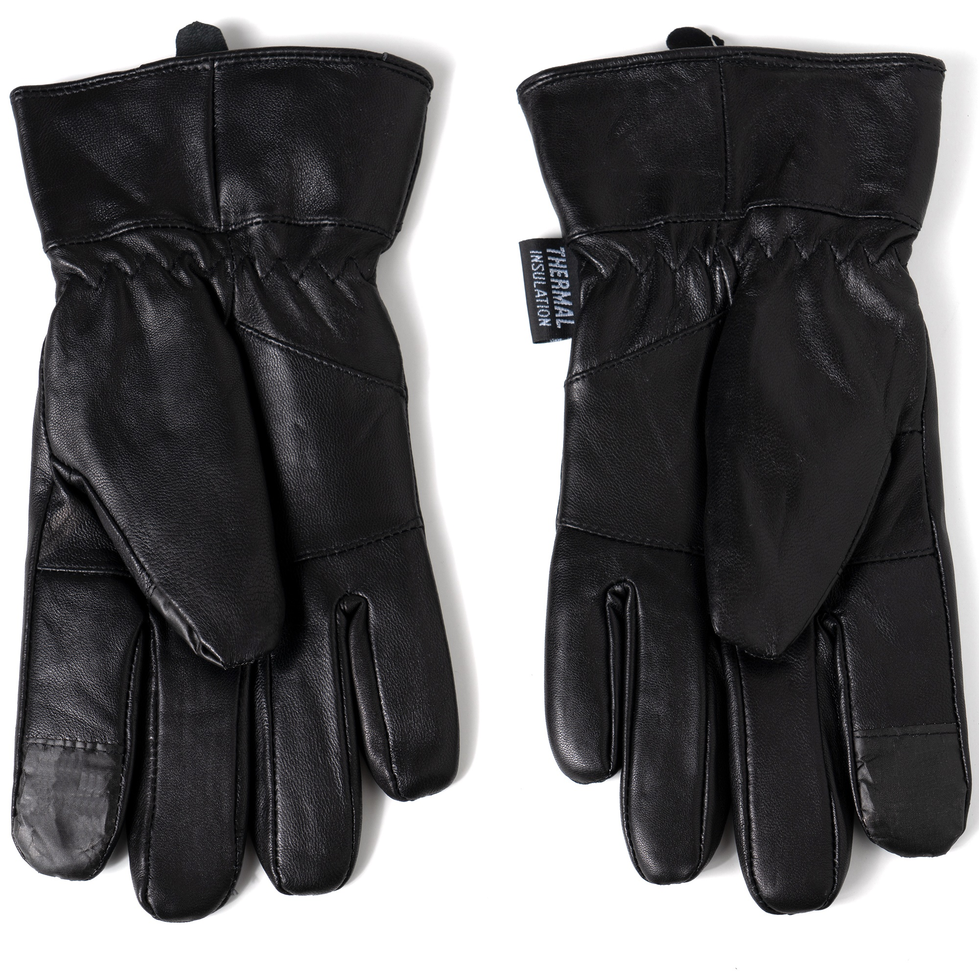 Alpine-Swiss-Mens-Touch-Screen-Gloves-Leather-Thermal-Lined-Phone-Texting-Gloves thumbnail 17
