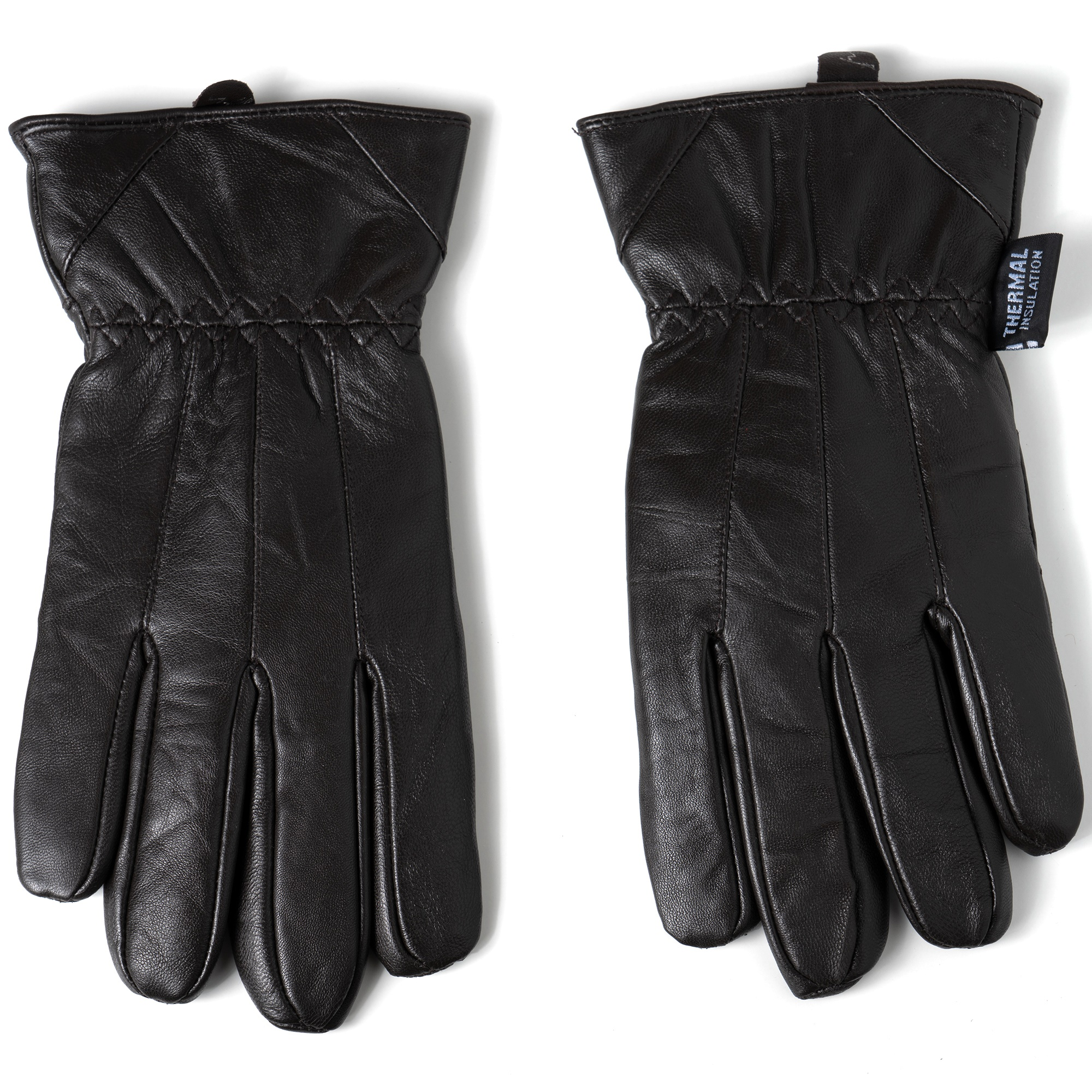 Alpine-Swiss-Mens-Touch-Screen-Gloves-Leather-Thermal-Lined-Phone-Texting-Gloves thumbnail 24