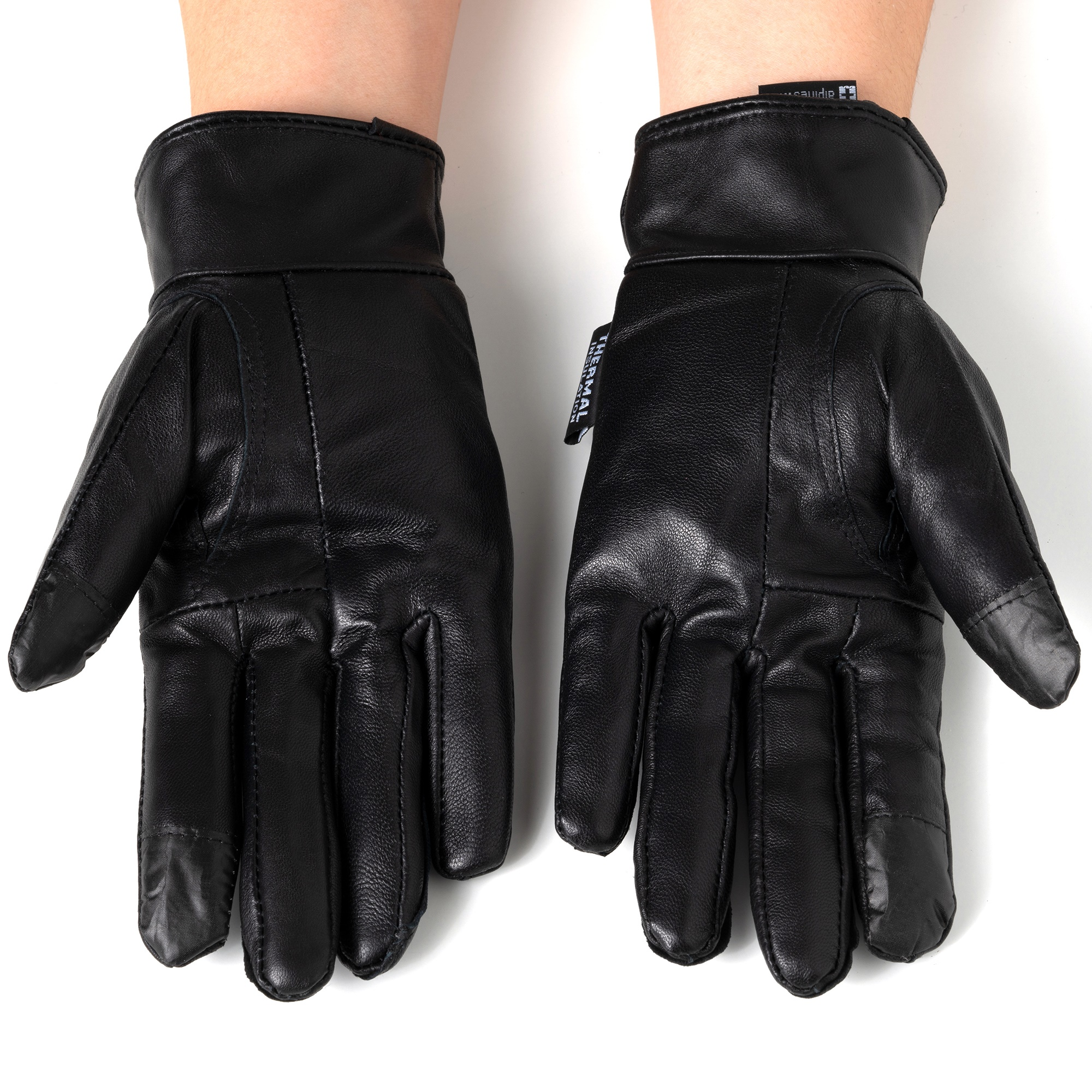 Alpine-Swiss-Womens-Touch-Screen-Gloves-Leather-Phone-Texting-Glove-Thermal-Warm thumbnail 14