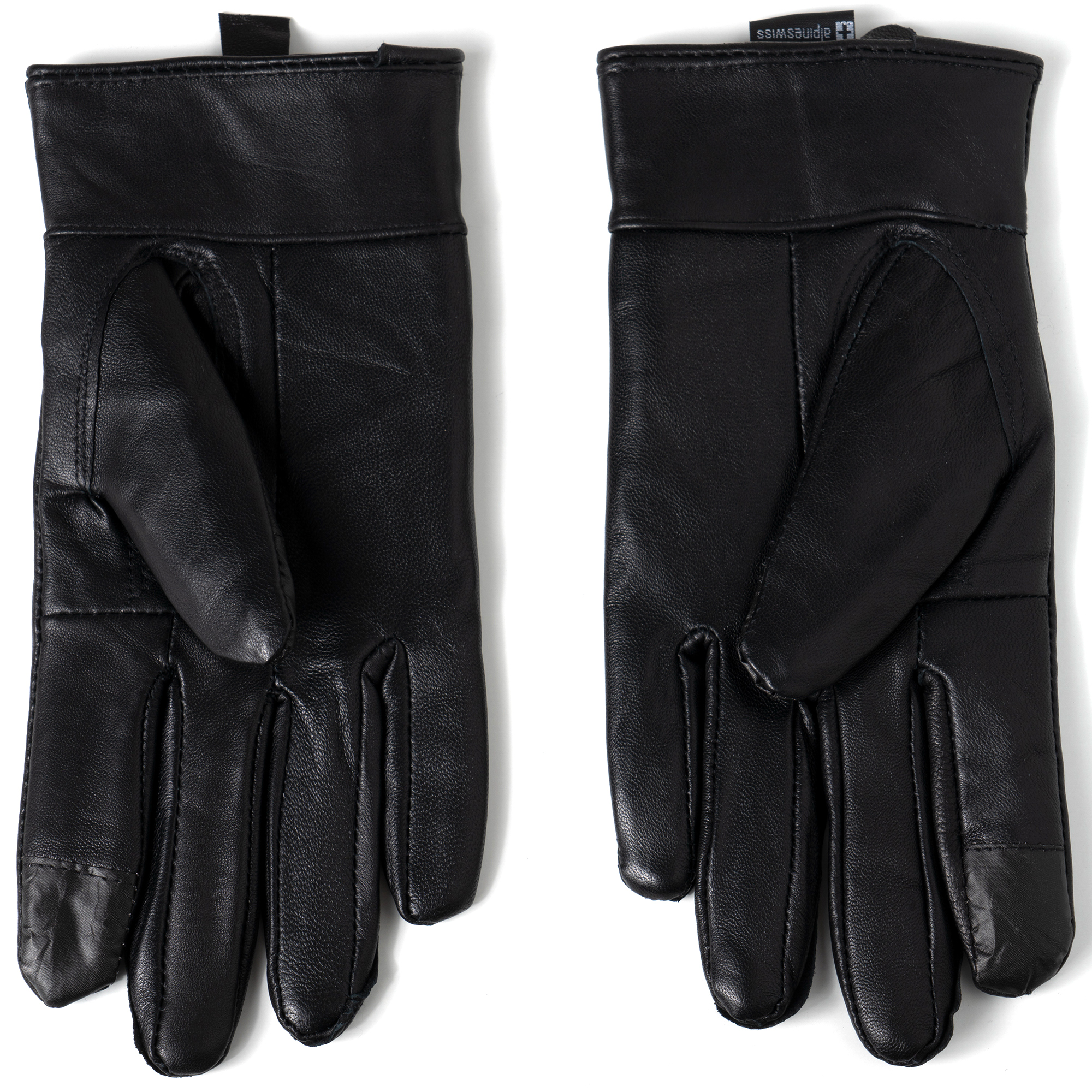 Alpine-Swiss-Womens-Touch-Screen-Gloves-Leather-Phone-Texting-Glove-Thermal-Warm thumbnail 20