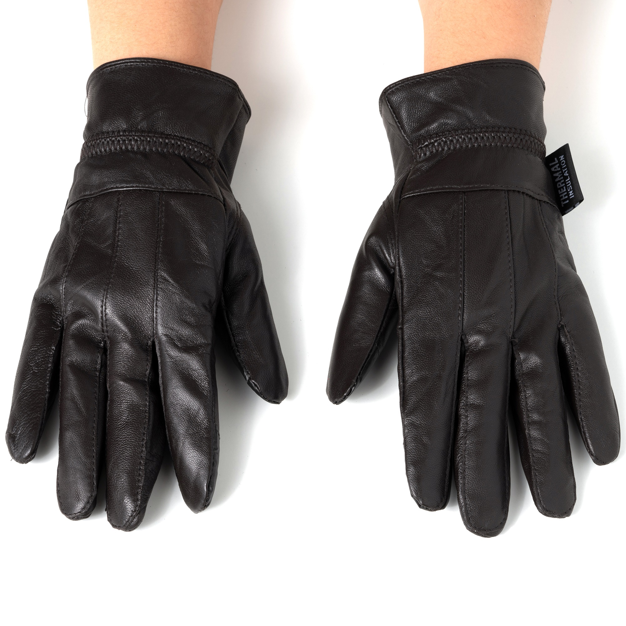 Alpine-Swiss-Womens-Touch-Screen-Gloves-Leather-Phone-Texting-Glove-Thermal-Warm thumbnail 23