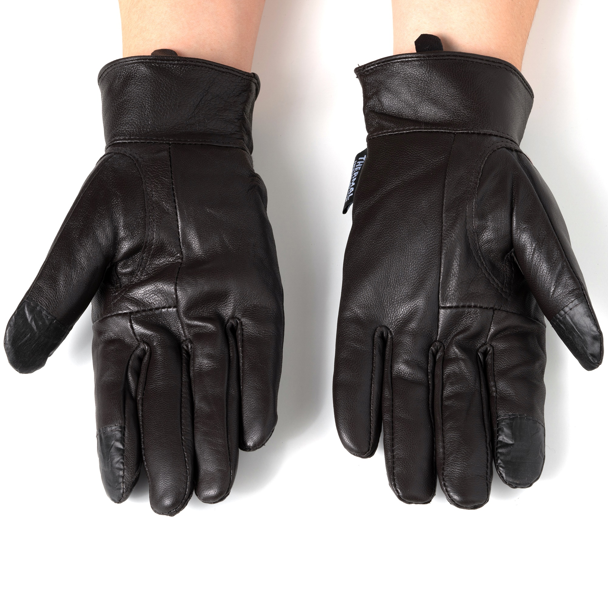 Alpine-Swiss-Womens-Touch-Screen-Gloves-Leather-Phone-Texting-Glove-Thermal-Warm thumbnail 25