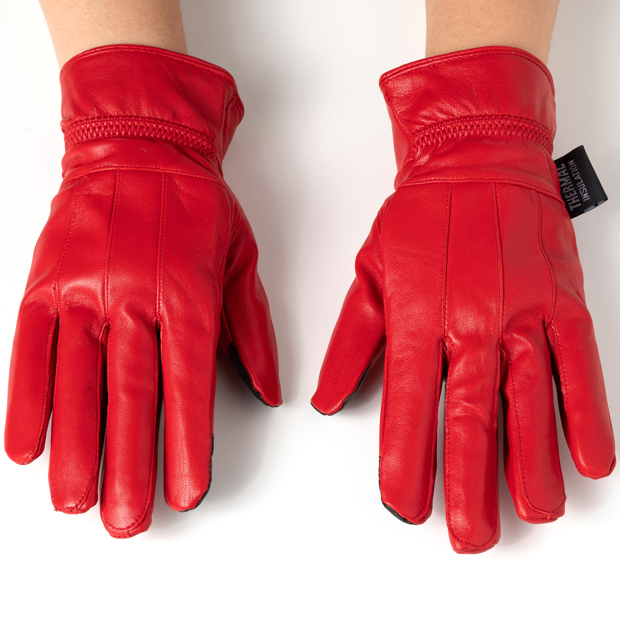 Alpine-Swiss-Womens-Touch-Screen-Gloves-Leather-Phone-Texting-Glove-Thermal-Warm thumbnail 31