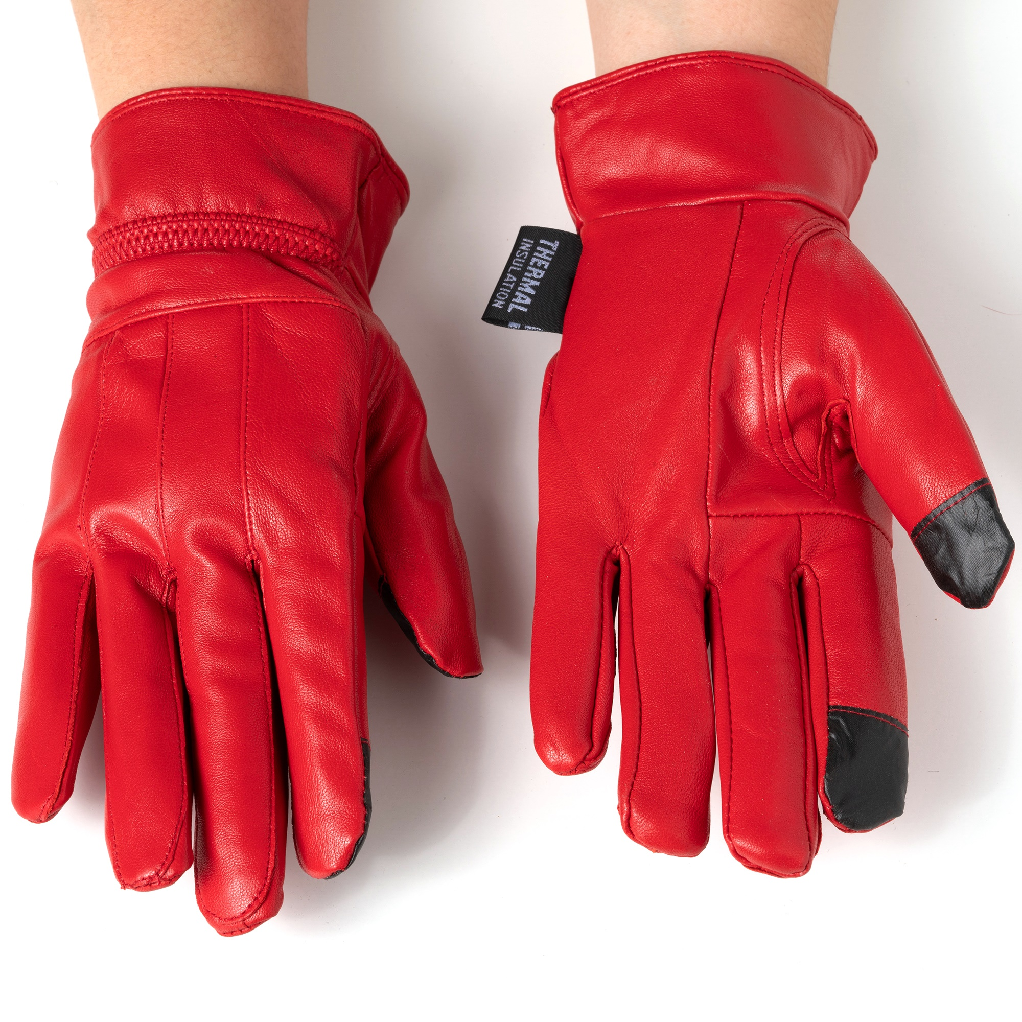 Alpine-Swiss-Womens-Touch-Screen-Gloves-Leather-Phone-Texting-Glove-Thermal-Warm thumbnail 32