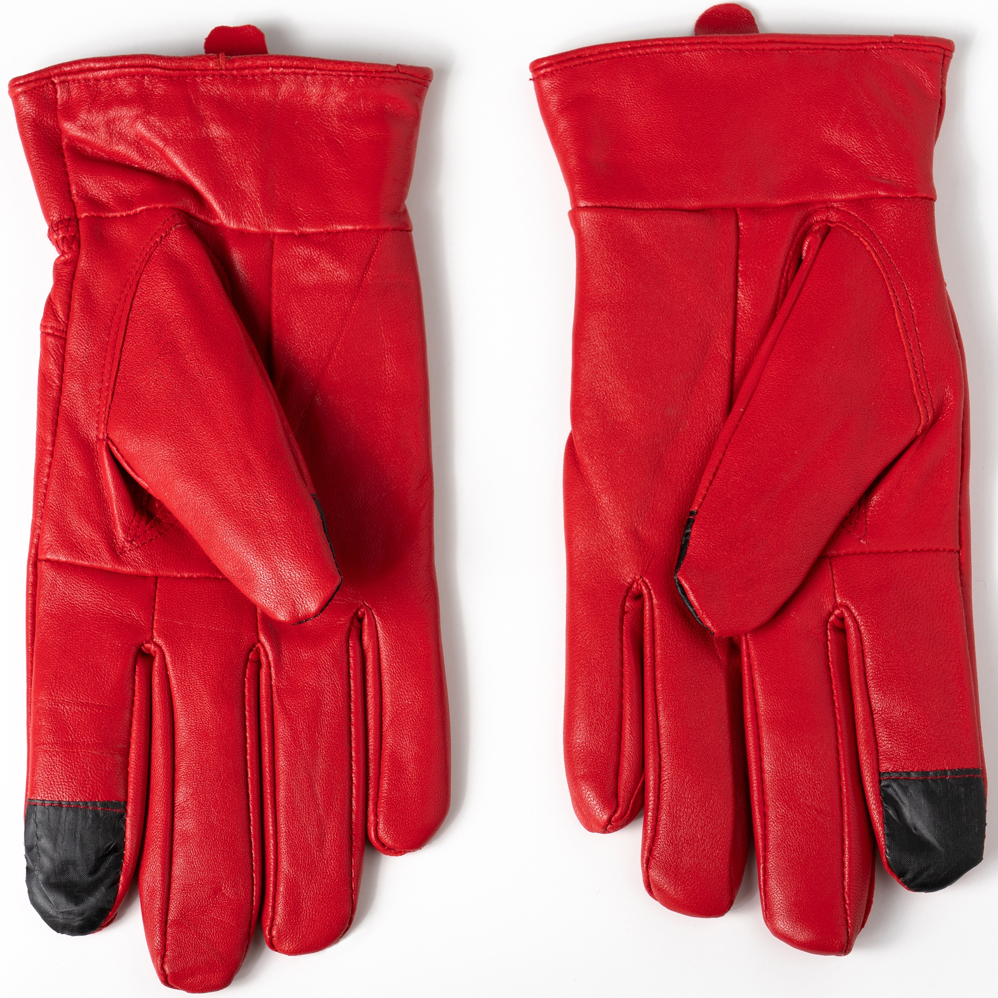 Alpine-Swiss-Womens-Touch-Screen-Gloves-Leather-Phone-Texting-Glove-Thermal-Warm thumbnail 34