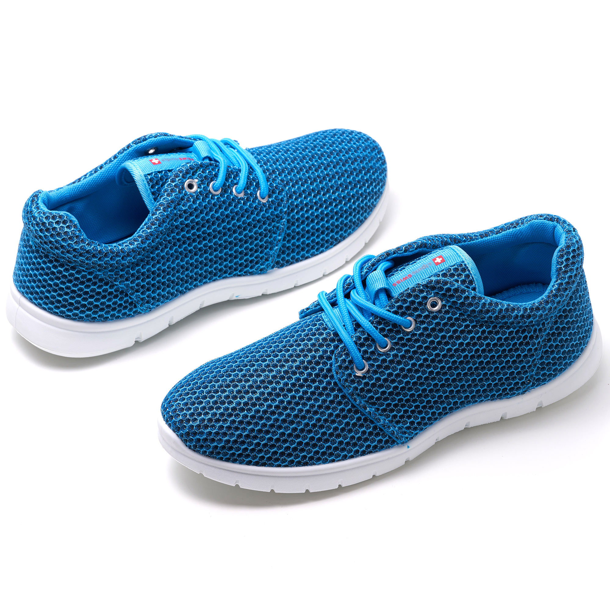 Alpine-Swiss-Kilian-Mesh-Sneakers-Casual-Shoes-Mens-amp-Womens-Lightweight-Trainer thumbnail 26