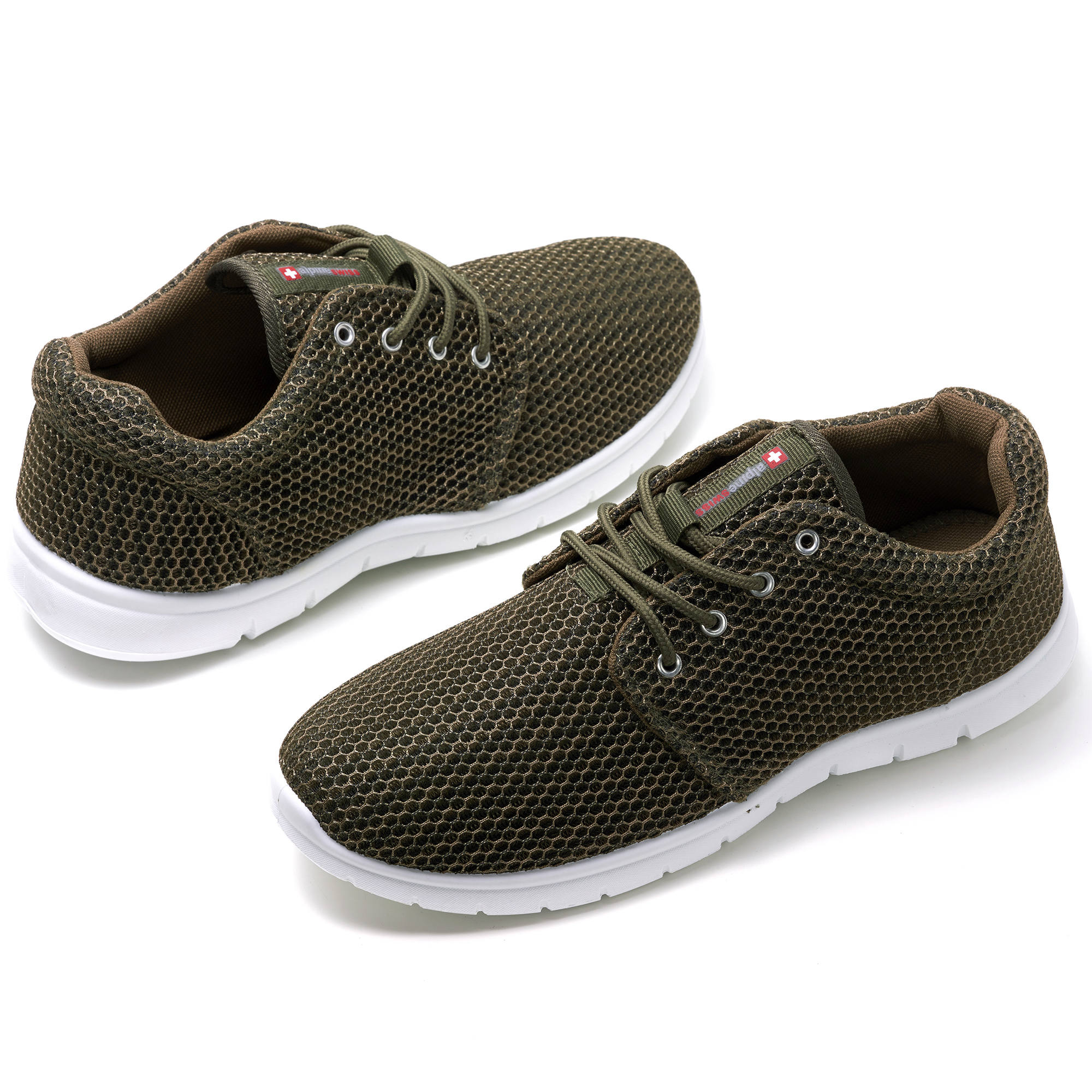 Alpine-Swiss-Kilian-Mesh-Sneakers-Casual-Shoes-Mens-amp-Womens-Lightweight-Trainer thumbnail 51