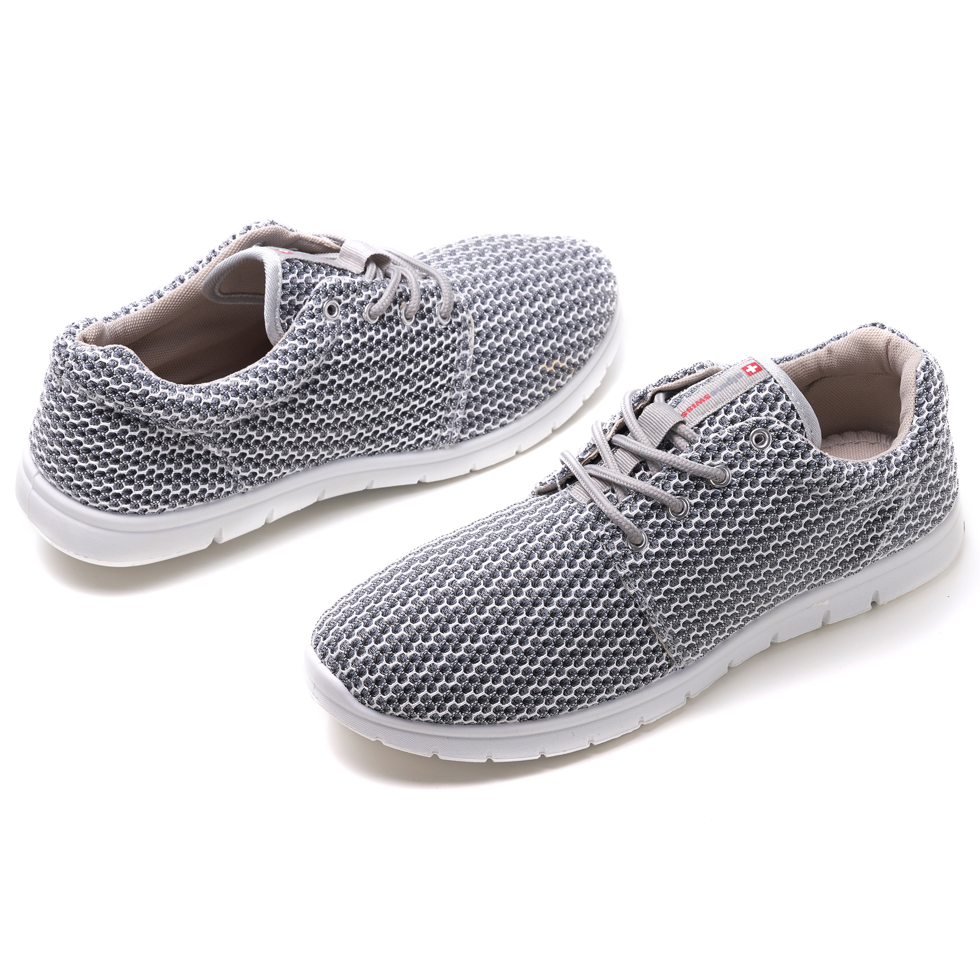 Alpine-Swiss-Kilian-Mesh-Sneakers-Casual-Shoes-Mens-amp-Womens-Lightweight-Trainer thumbnail 43