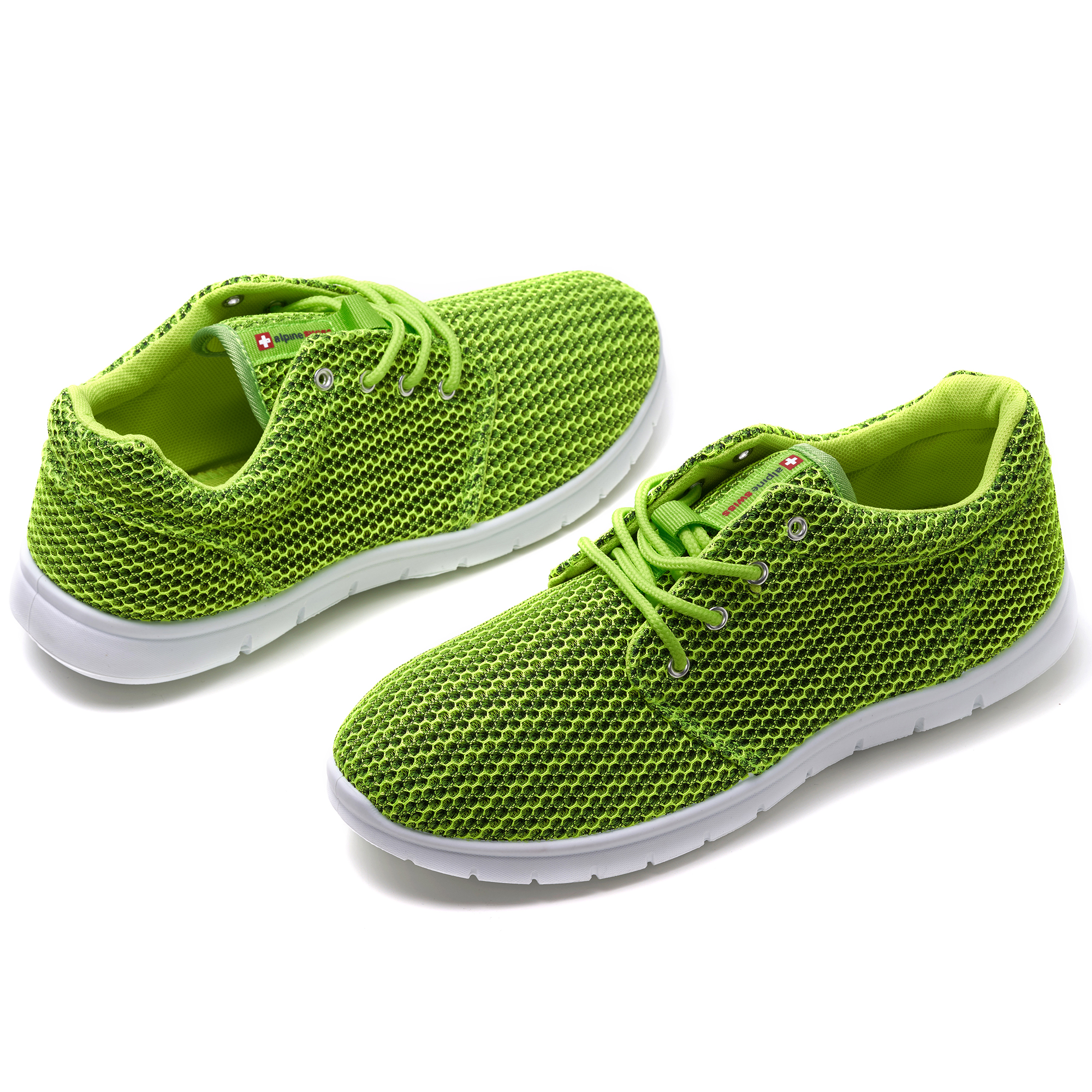Alpine-Swiss-Kilian-Mesh-Sneakers-Casual-Shoes-Mens-amp-Womens-Lightweight-Trainer thumbnail 61