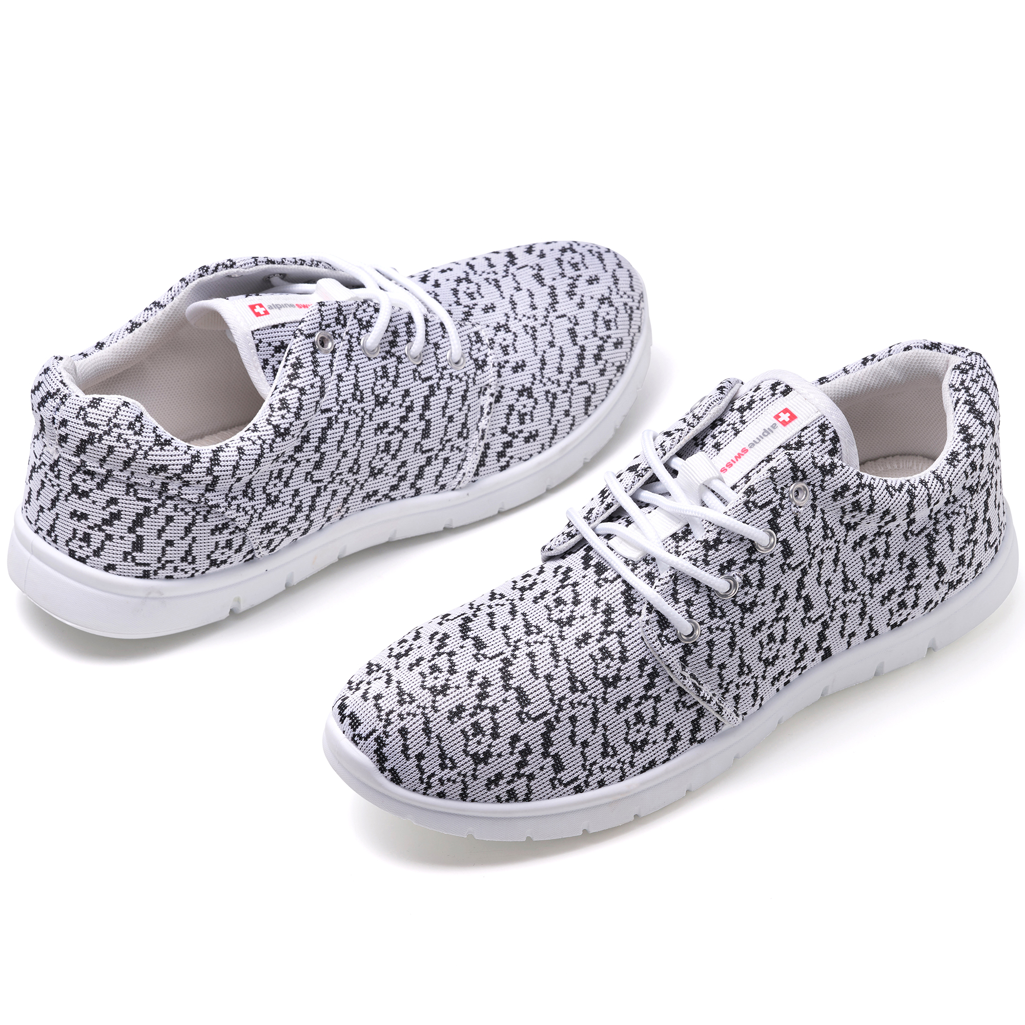 Alpine-Swiss-Kilian-Mesh-Sneakers-Casual-Shoes-Mens-amp-Womens-Lightweight-Trainer thumbnail 86
