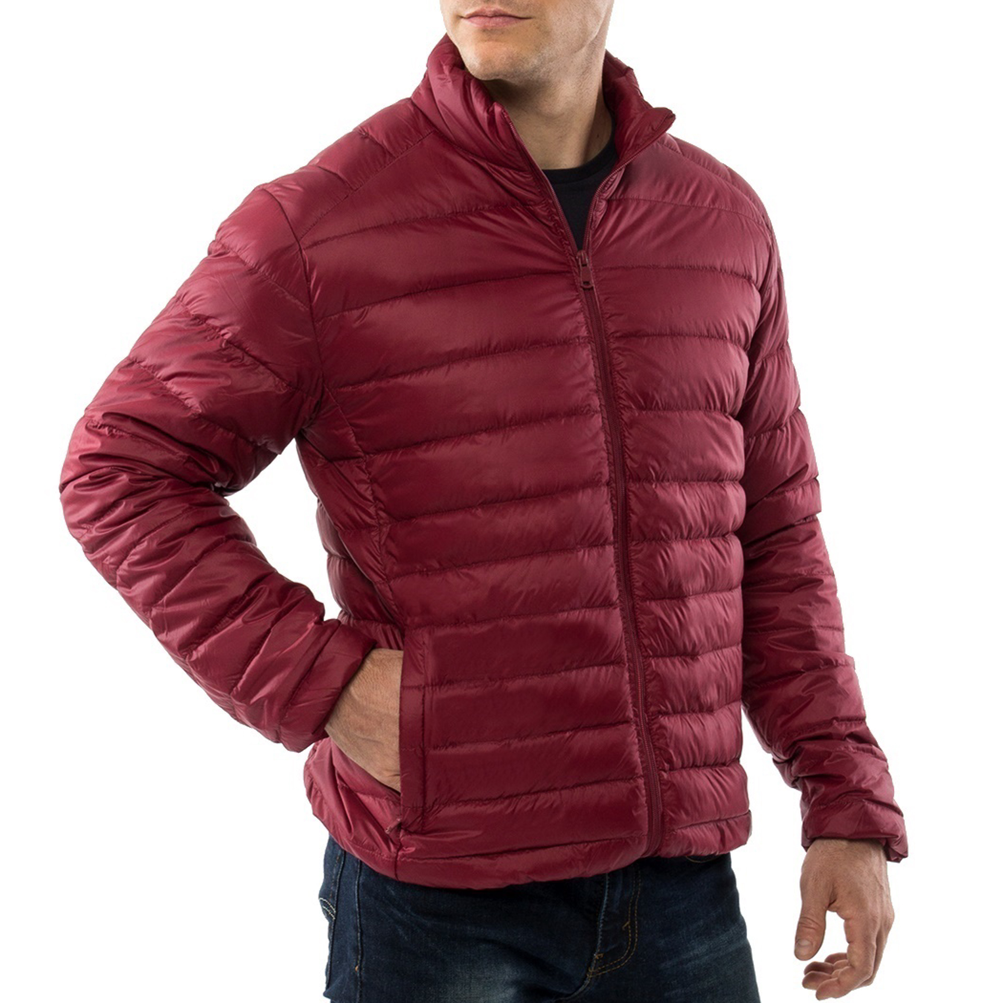 Alpine-Swiss-Niko-Packable-Light-Mens-Down-Jacket-Puffer-Bubble-Coat-Warm-Parka