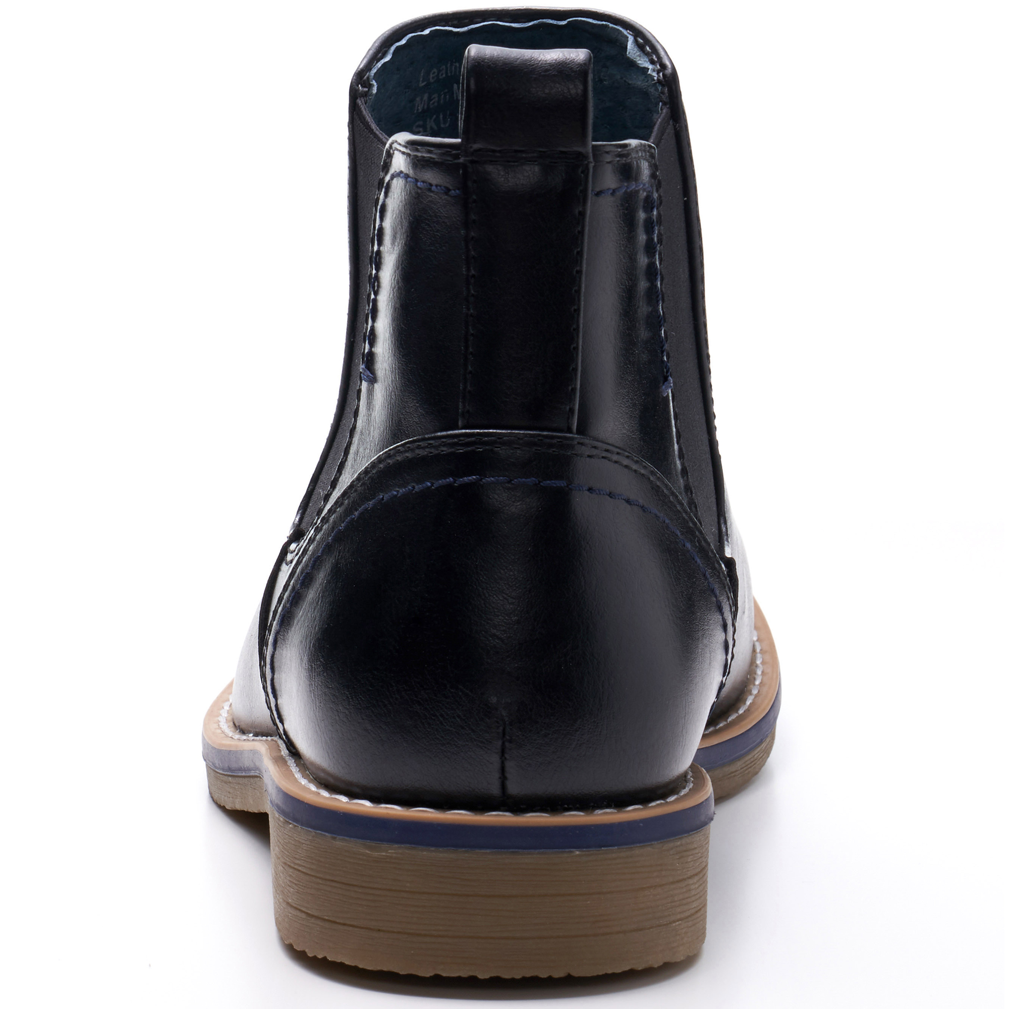 Alpine-Swiss-Mens-Owen-Chelsea-Boots-Pull-Up-Ankle-Boot-Genuine-Leather-Lined miniature 15