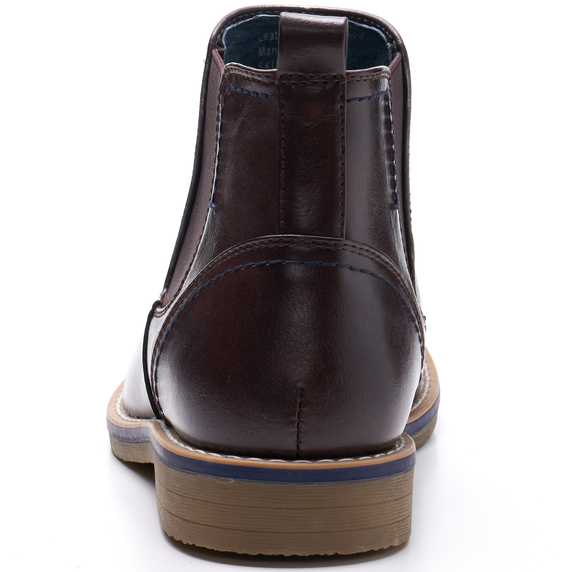 Alpine-Swiss-Mens-Owen-Chelsea-Boots-Pull-Up-Ankle-Boot-Genuine-Leather-Lined miniature 21