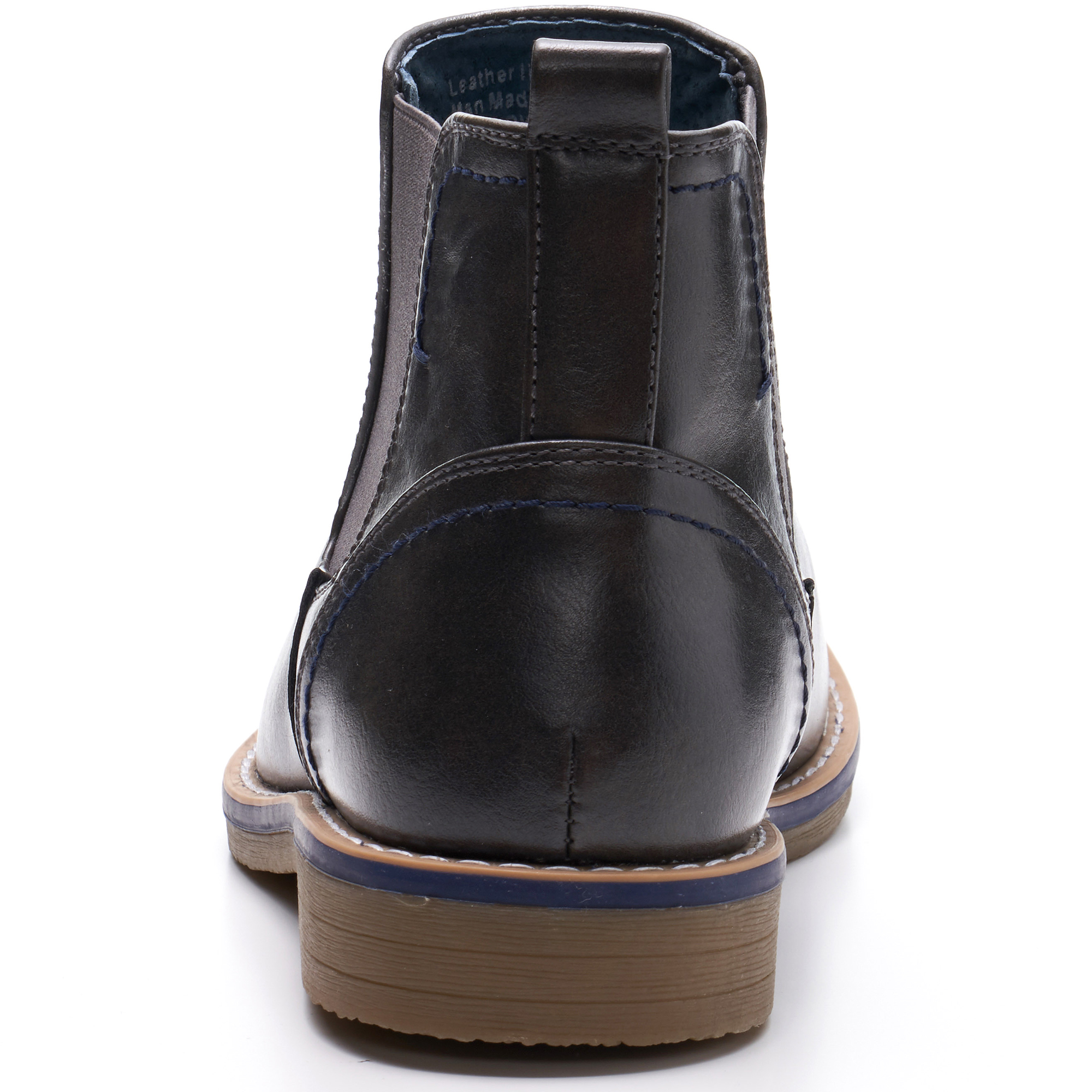 Alpine-Swiss-Mens-Owen-Chelsea-Boots-Pull-Up-Ankle-Boot-Genuine-Leather-Lined miniature 27