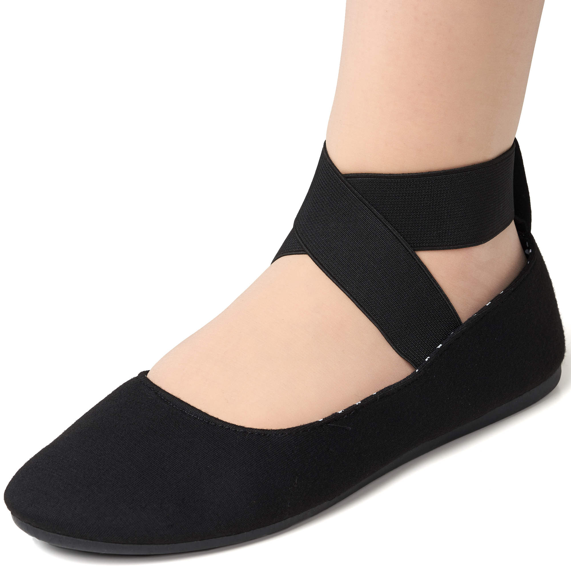 Alpine-Swiss-Peony-Womens-Ballet-Flats-Elastic-Ankle-Strap-Shoes-Slip-On-Loafers thumbnail 13