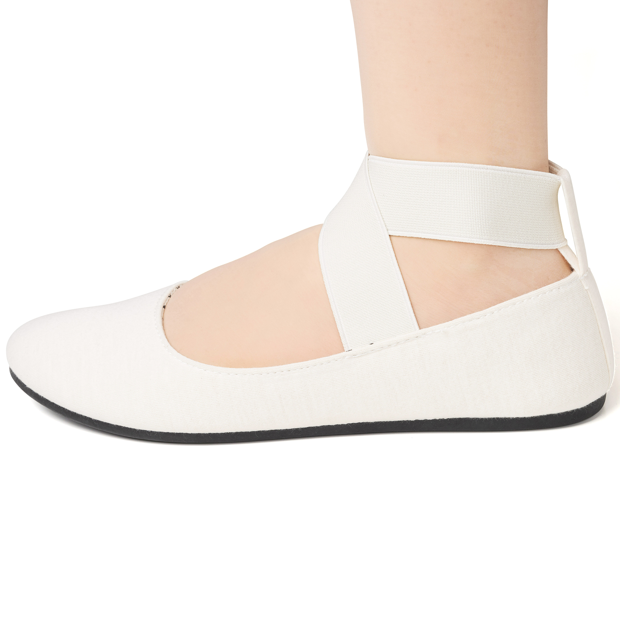 Alpine-Swiss-Peony-Womens-Ballet-Flats-Elastic-Ankle-Strap-Shoes-Slip-On-Loafers thumbnail 26