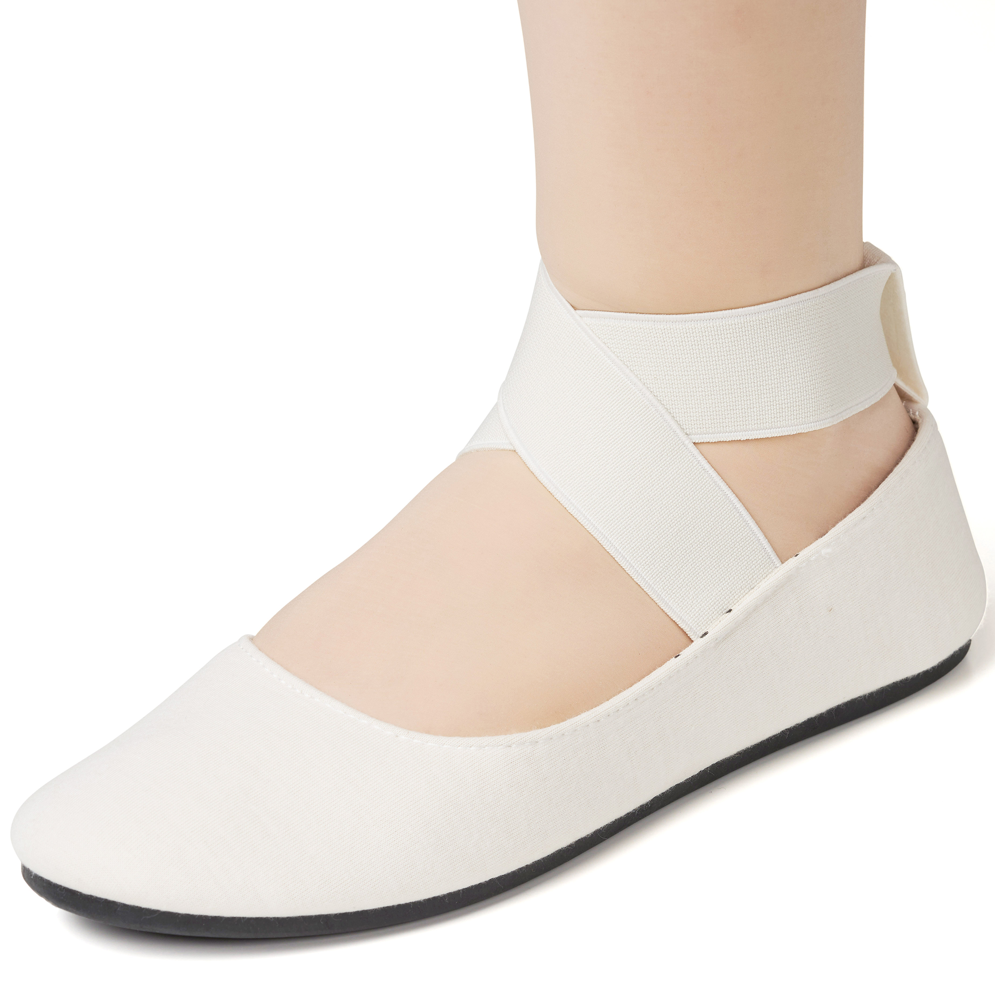 Alpine-Swiss-Peony-Womens-Ballet-Flats-Elastic-Ankle-Strap-Shoes-Slip-On-Loafers thumbnail 25