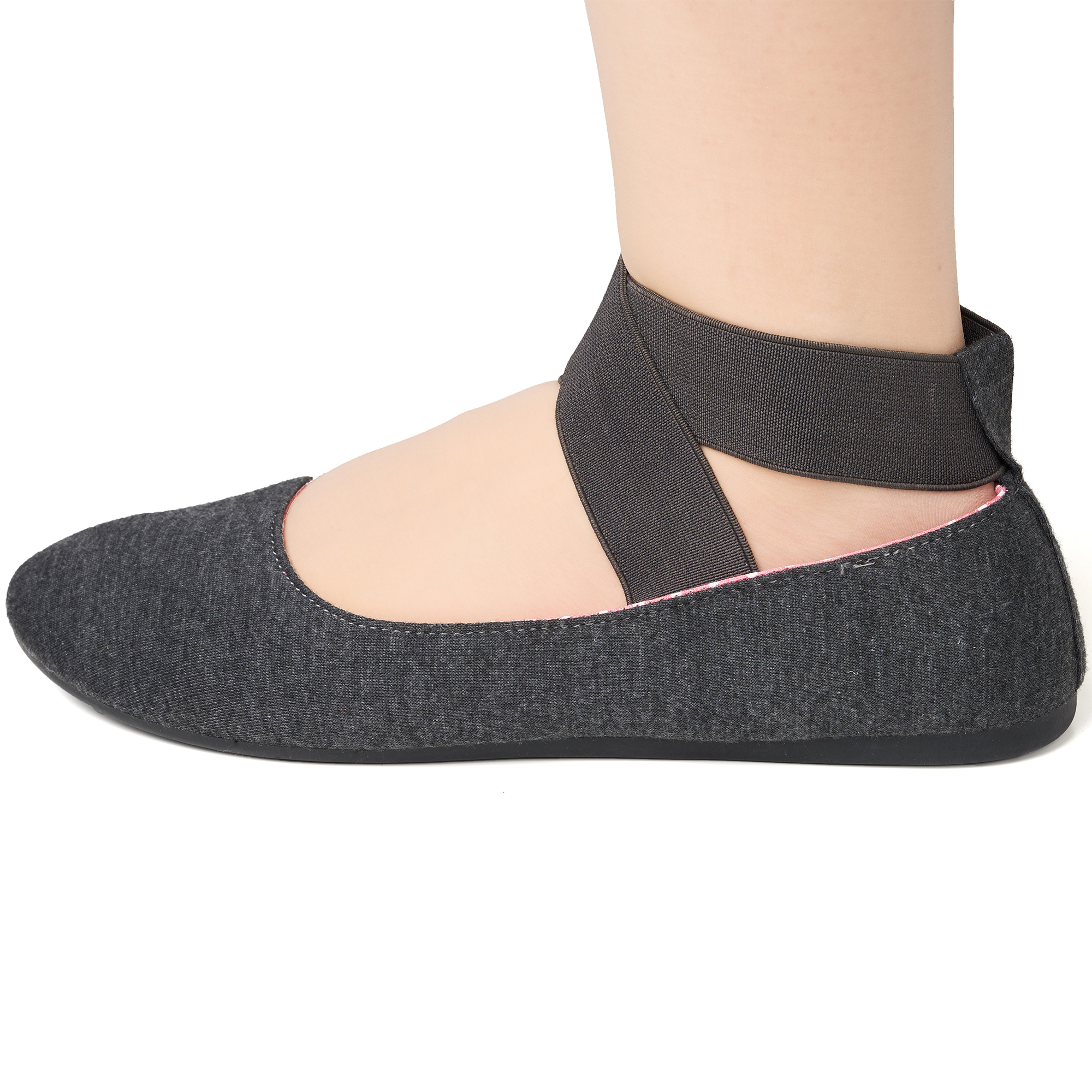 Alpine-Swiss-Peony-Womens-Ballet-Flats-Elastic-Ankle-Strap-Shoes-Slip-On-Loafers thumbnail 32