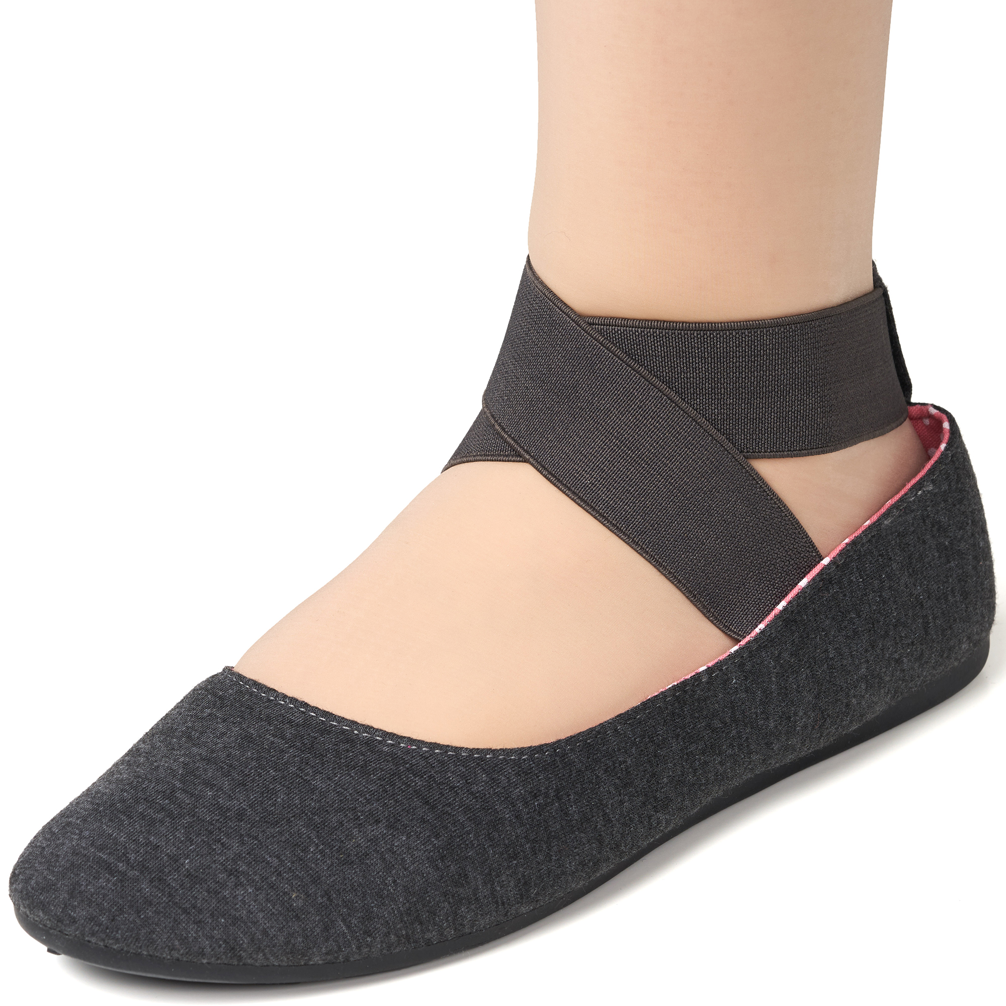 Alpine-Swiss-Peony-Womens-Ballet-Flats-Elastic-Ankle-Strap-Shoes-Slip-On-Loafers thumbnail 31