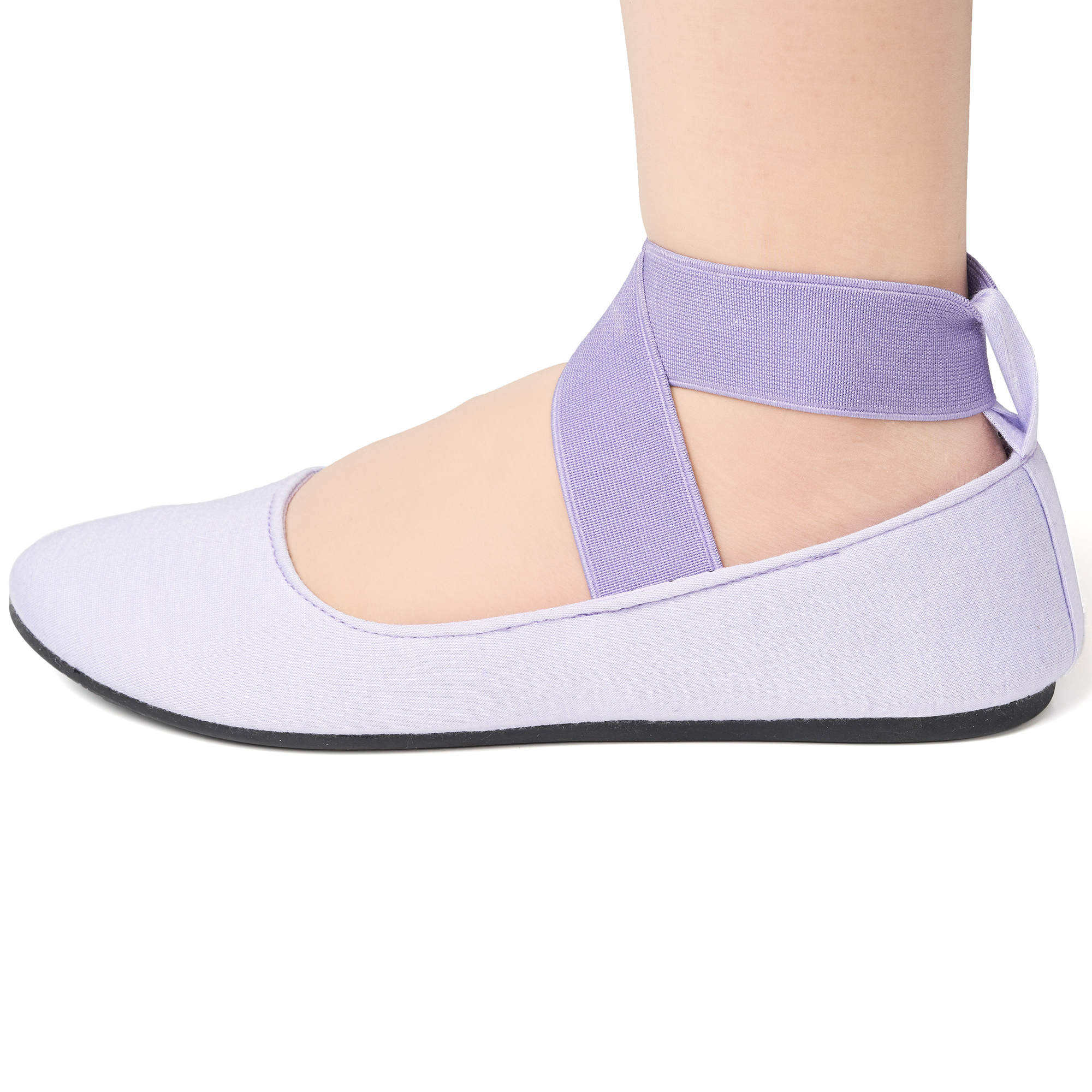 Alpine-Swiss-Peony-Womens-Ballet-Flats-Elastic-Ankle-Strap-Shoes-Slip-On-Loafers thumbnail 38
