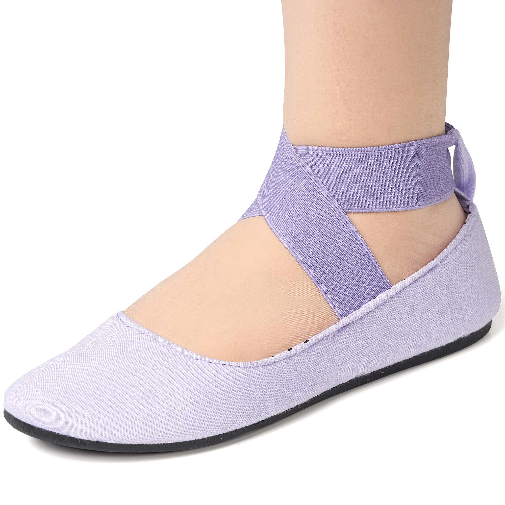 Alpine-Swiss-Peony-Womens-Ballet-Flats-Elastic-Ankle-Strap-Shoes-Slip-On-Loafers thumbnail 37
