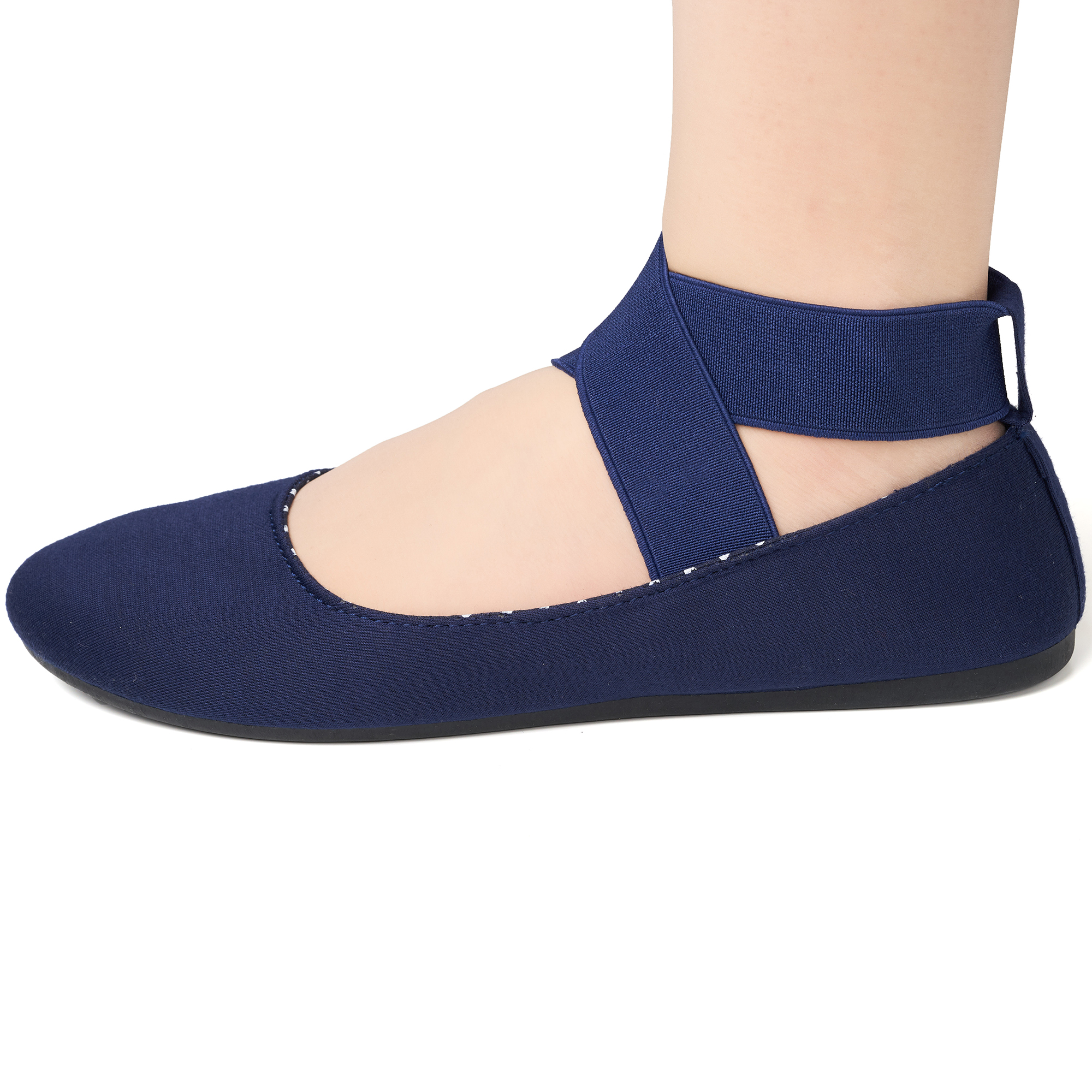 Alpine-Swiss-Peony-Womens-Ballet-Flats-Elastic-Ankle-Strap-Shoes-Slip-On-Loafers thumbnail 44