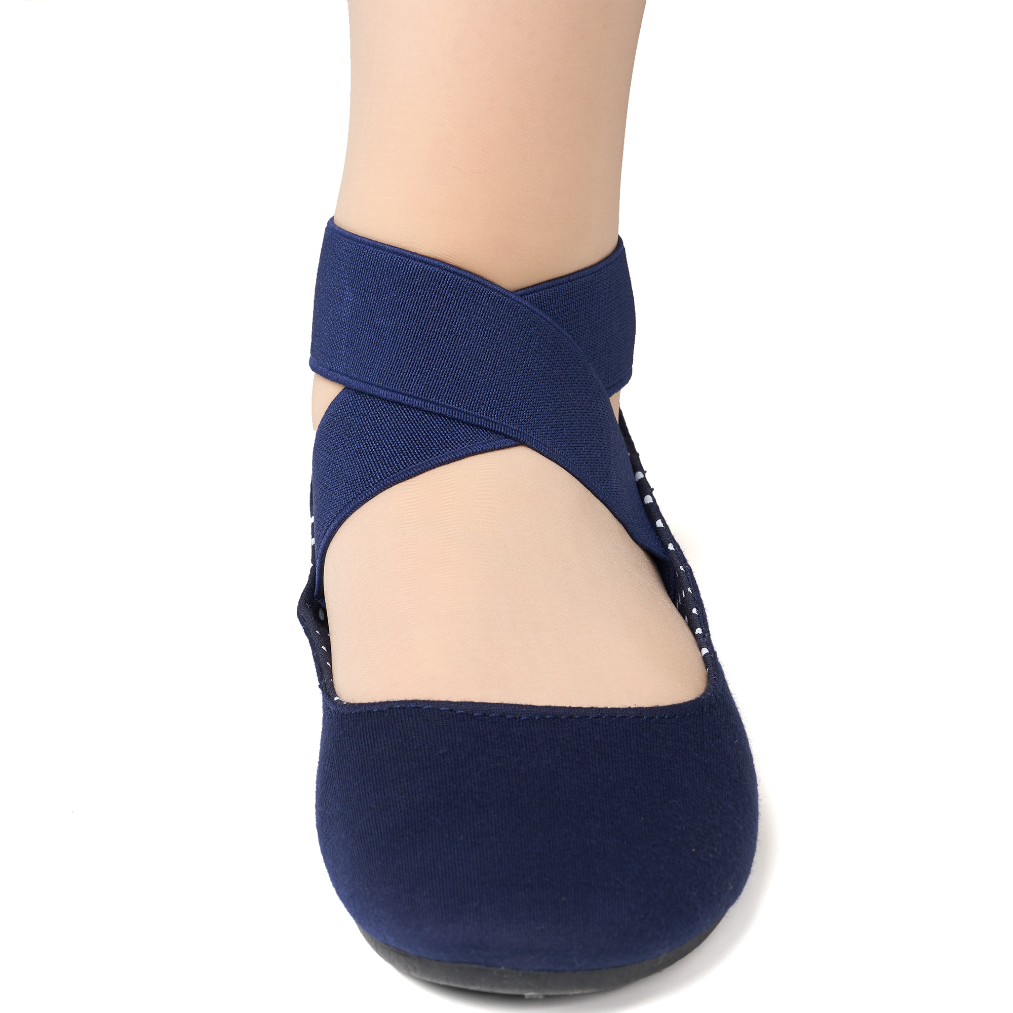 Alpine-Swiss-Peony-Womens-Ballet-Flats-Elastic-Ankle-Strap-Shoes-Slip-On-Loafers thumbnail 46