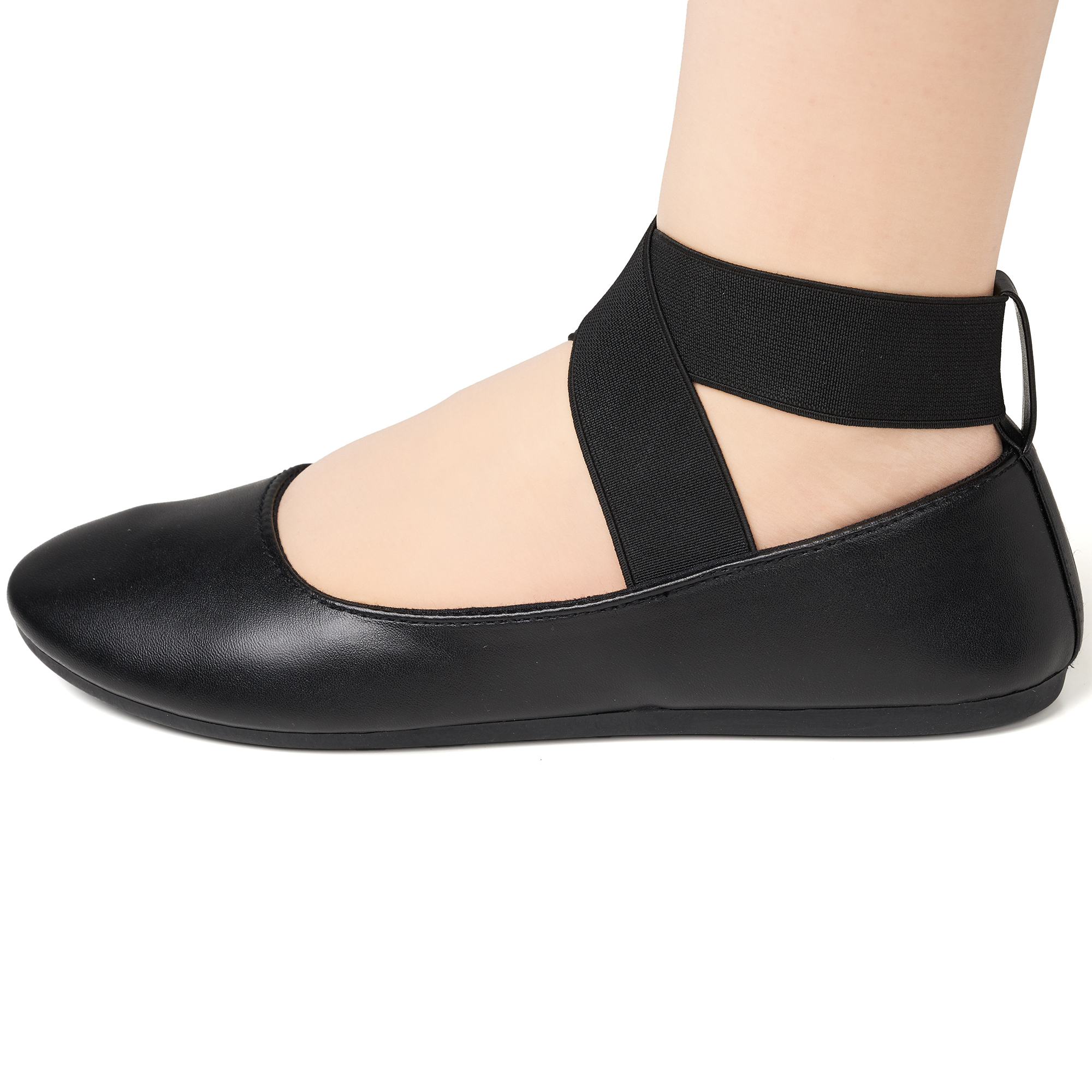Alpine-Swiss-Peony-Womens-Ballet-Flats-Elastic-Ankle-Strap-Shoes-Slip-On-Loafers thumbnail 20